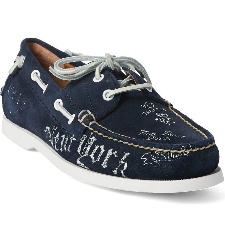 a493d42018dc Polo Ralph Lauren Merton Boat Shoe (Men)