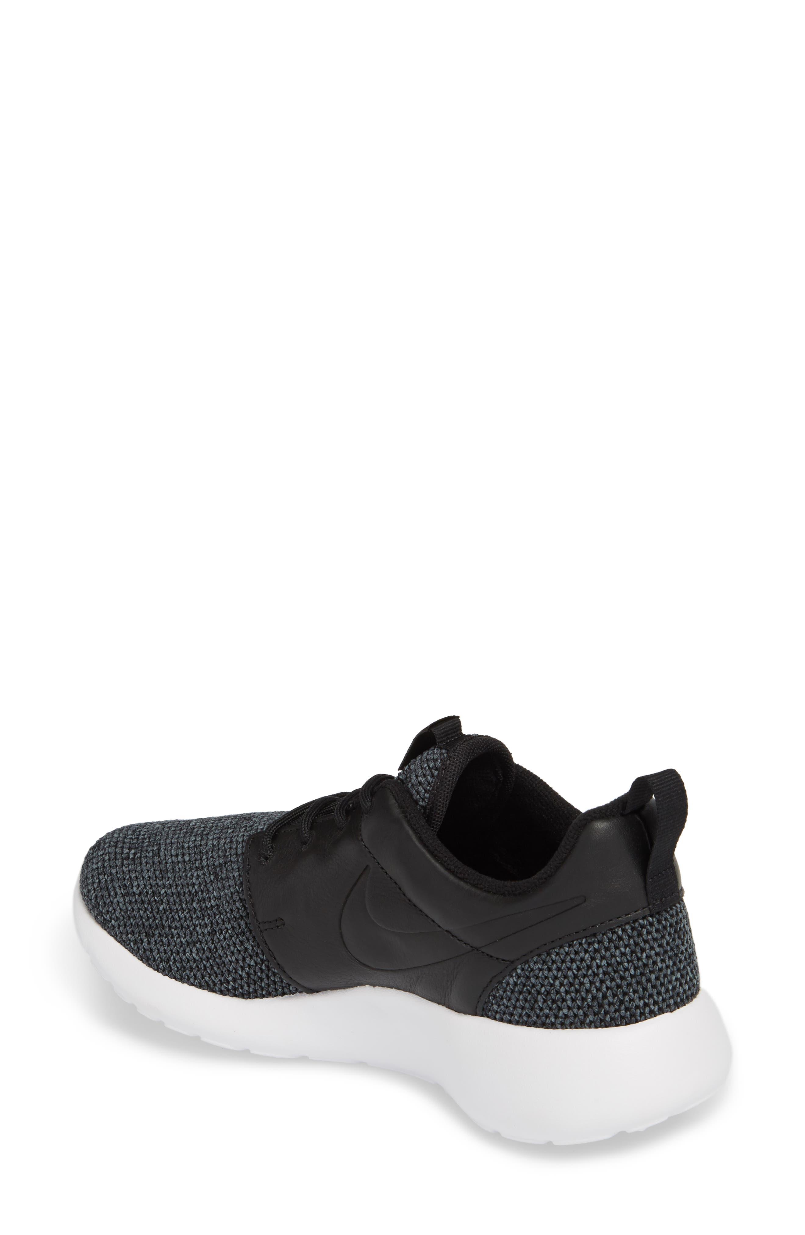 Roshe One Knit Sneaker,                             Alternate thumbnail 3, color,