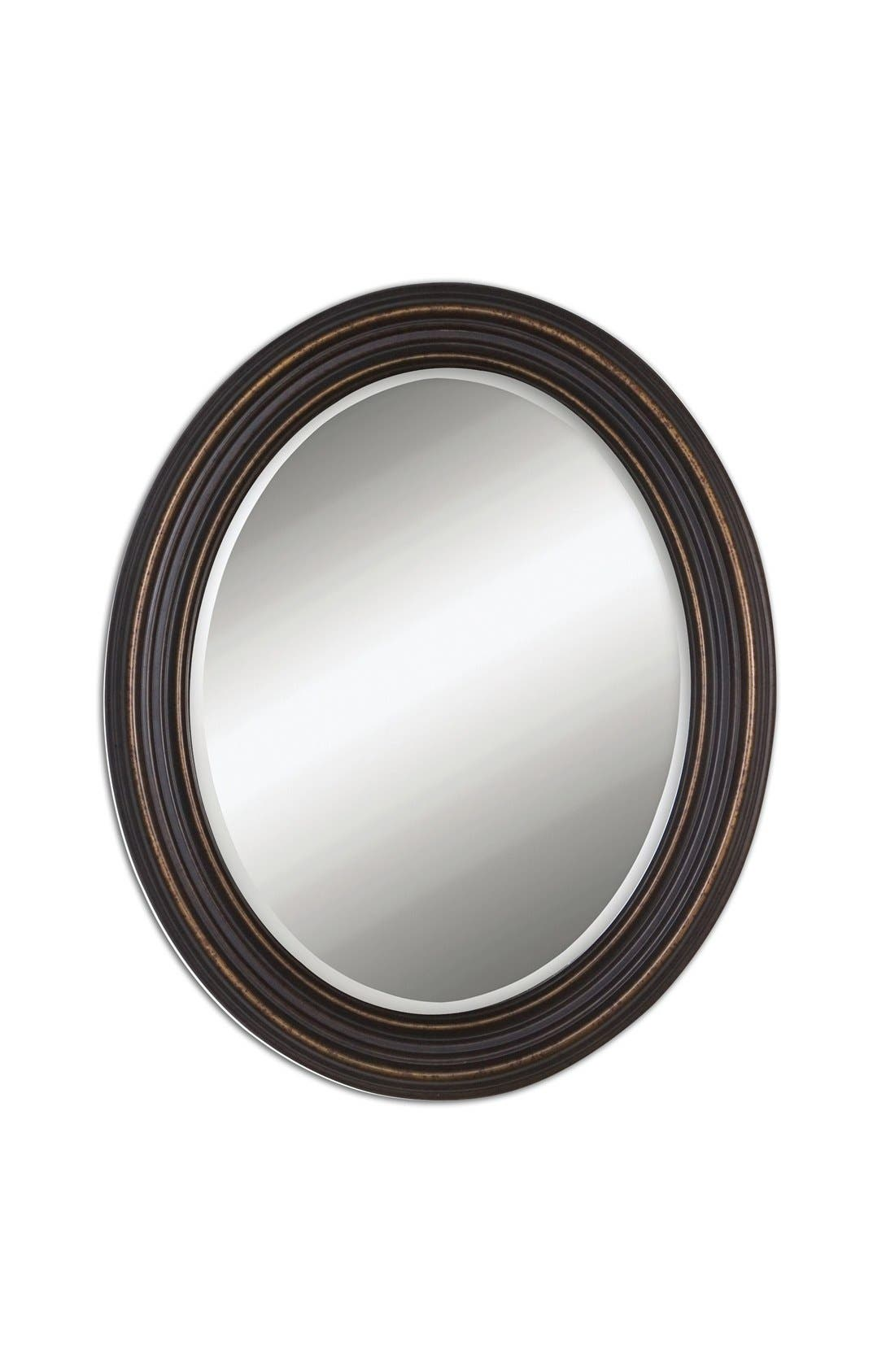 'Ovesca' Oval Mirror,                         Main,                         color, 001