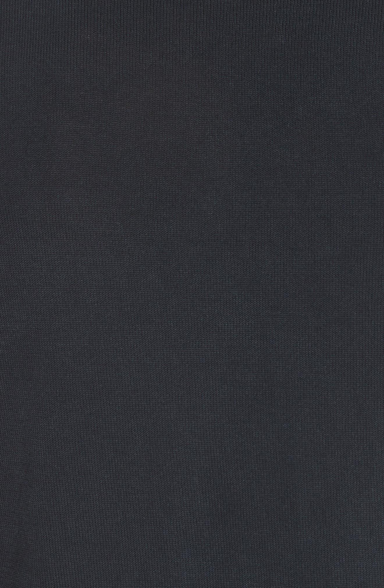 Magnus Combed Cotton Crewneck Sweater,                             Alternate thumbnail 5, color,                             410