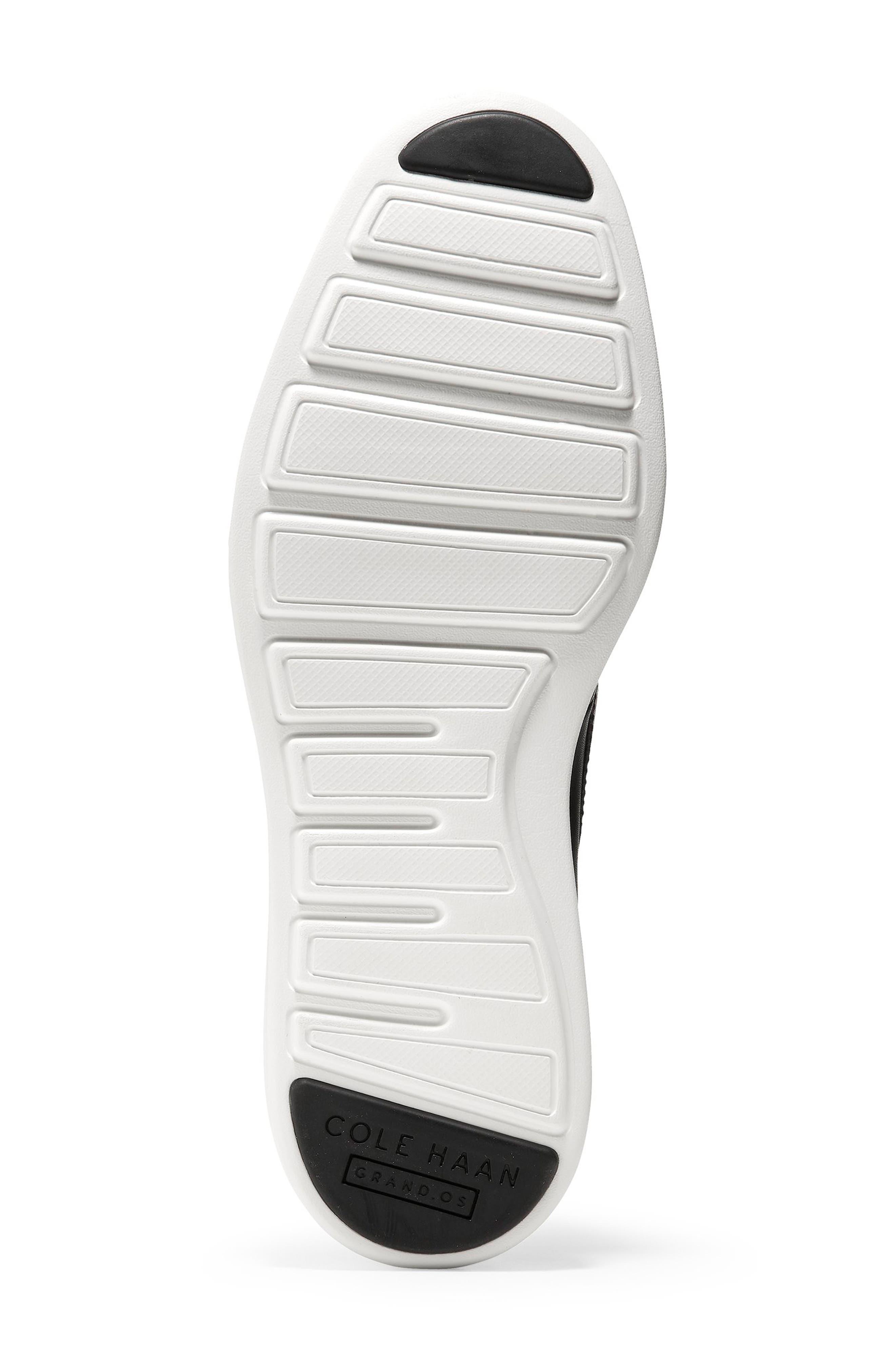 Original Grand Loafer,                             Alternate thumbnail 6, color,                             BLACK/ OPTIC WHITE LEATHER
