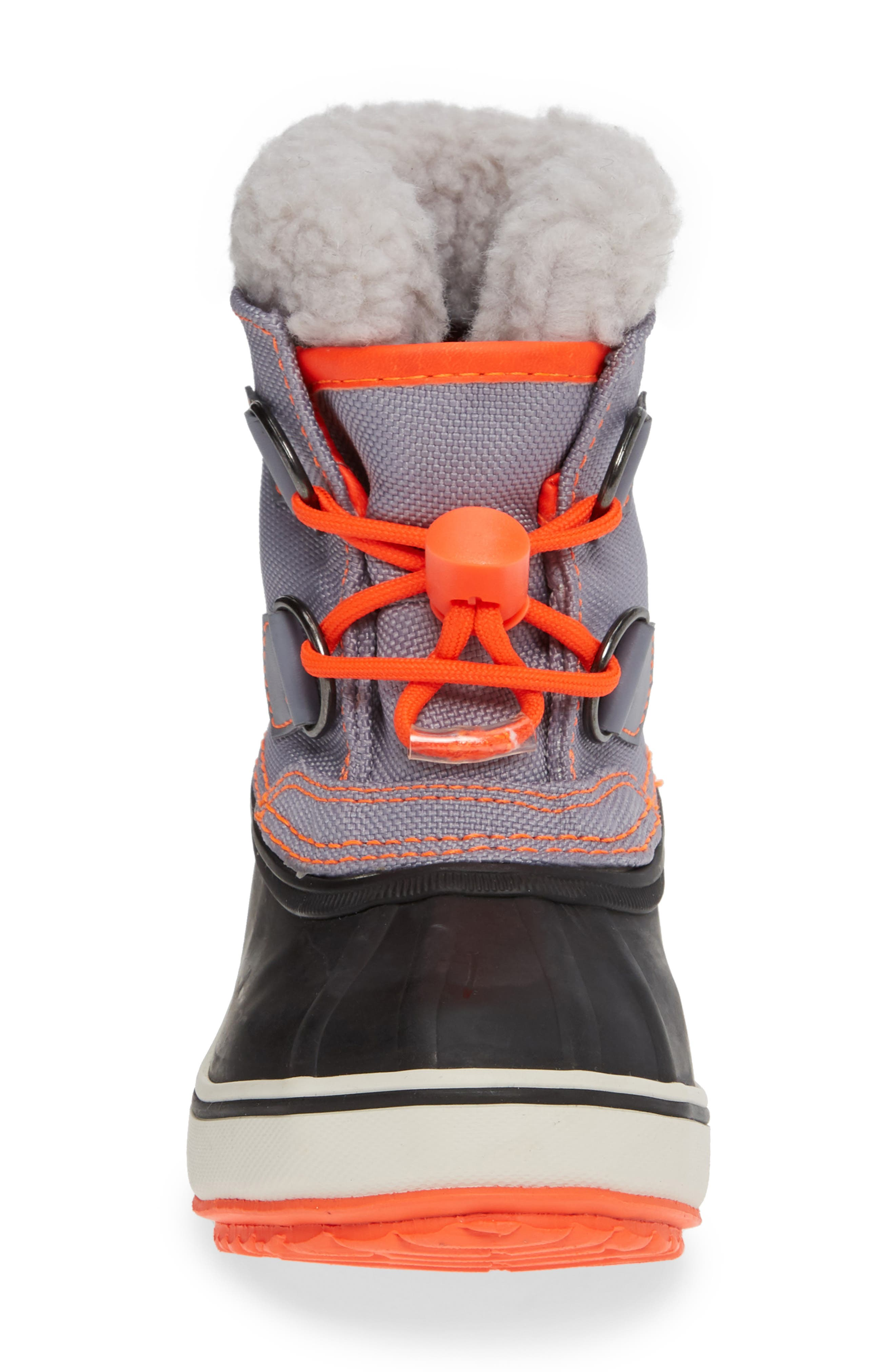Waterproof Snow Boots,                             Alternate thumbnail 4, color,                             STARBOARD BLUE