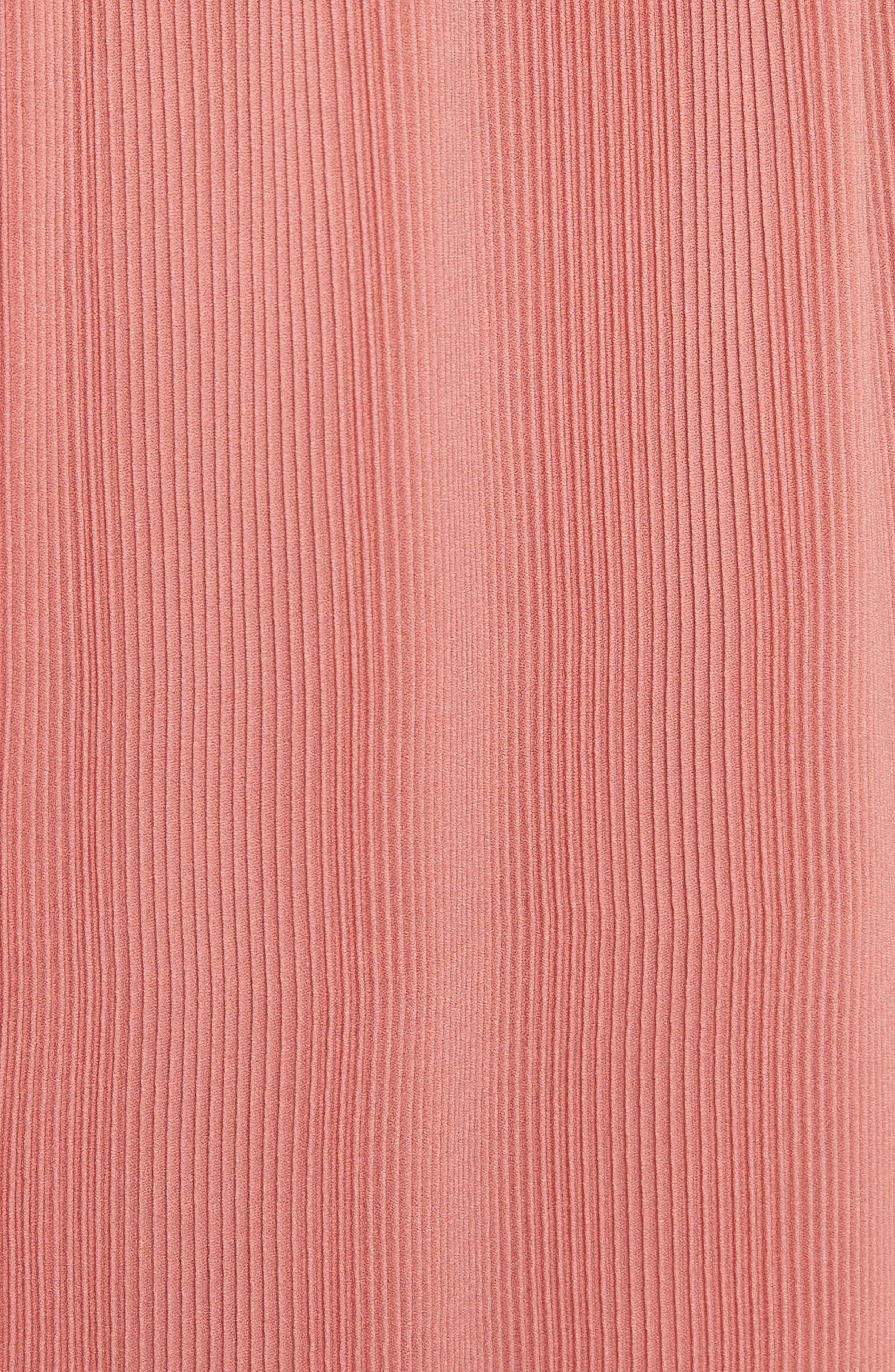 Colorblock Pleated Dress,                             Alternate thumbnail 5, color,                             007