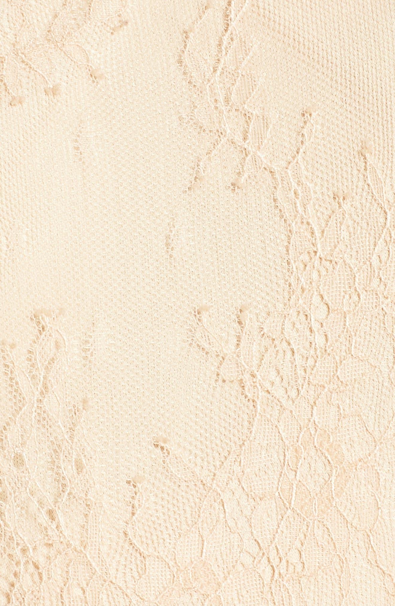 Lace Fit & Flare Dress,                             Alternate thumbnail 5, color,                             250