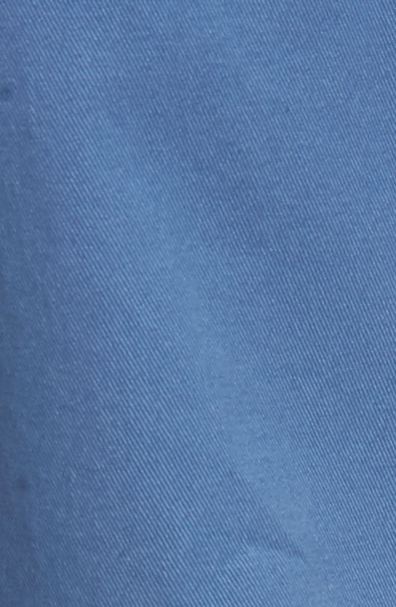 Tailored Fit Washed Stretch Cotton Chinos,                             Alternate thumbnail 156, color,