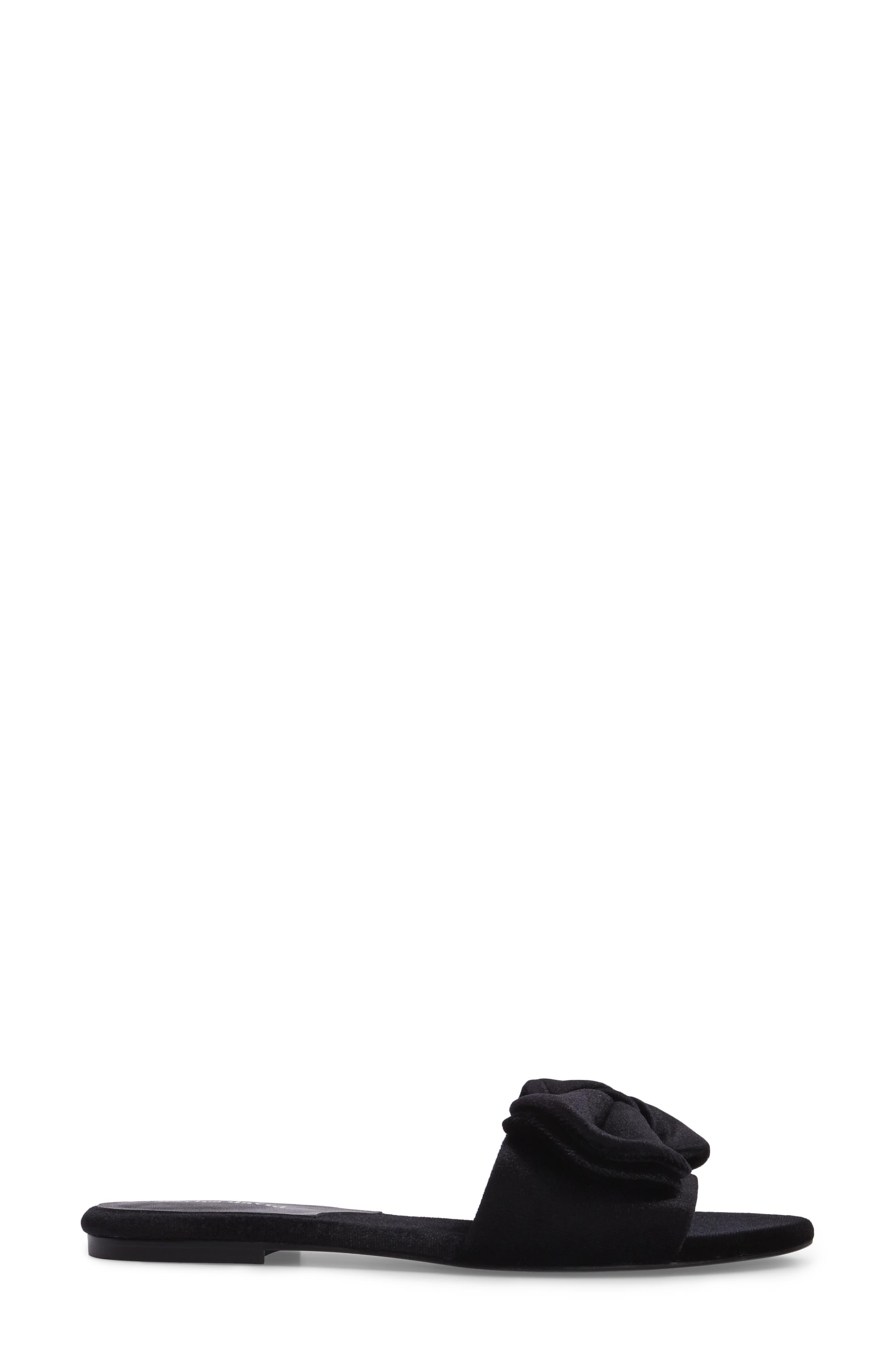 Bow Slide Sandal,                             Alternate thumbnail 5, color,