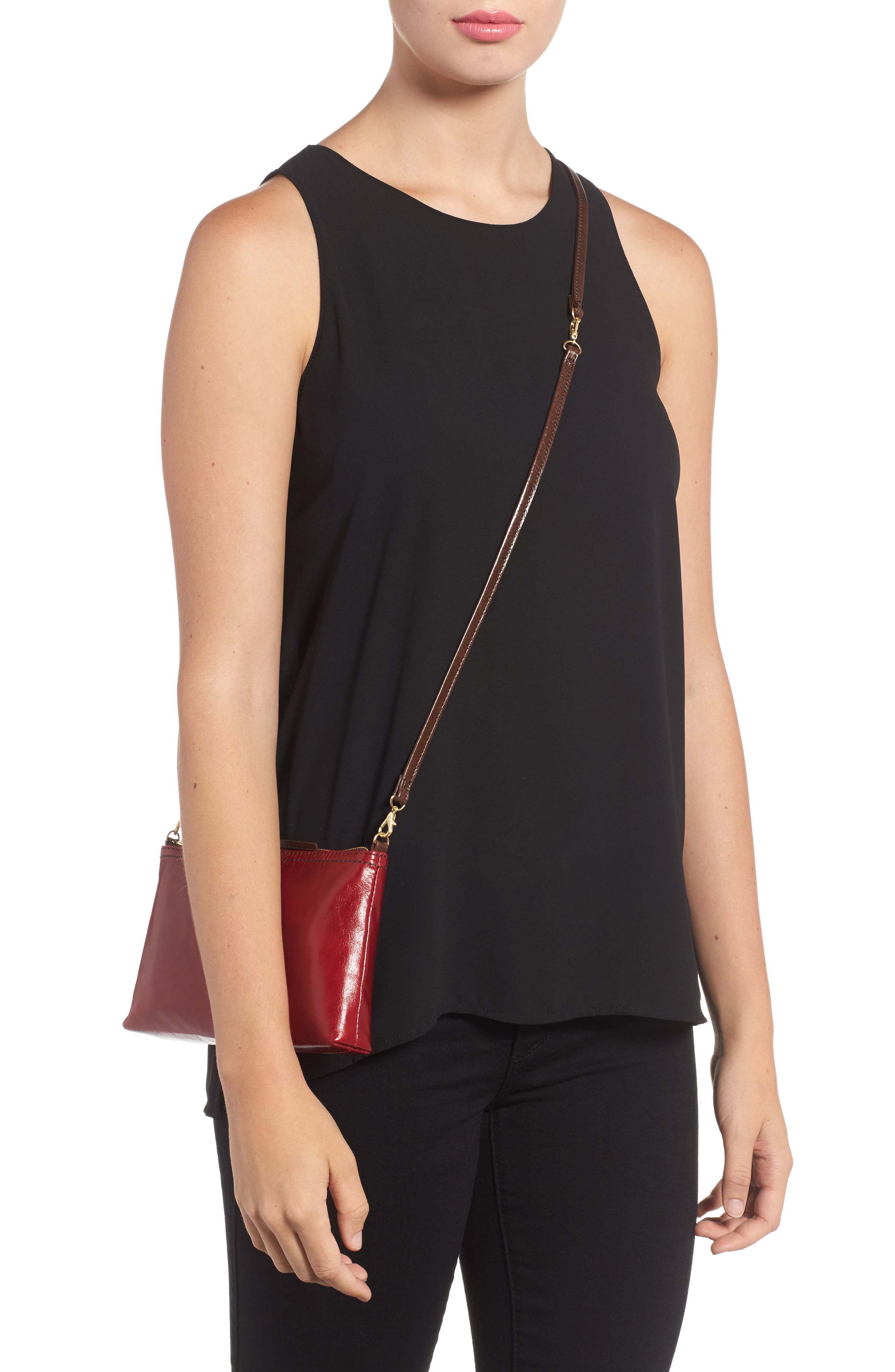 'Darcy' Leather Crossbody Bag,                             Alternate thumbnail 49, color,