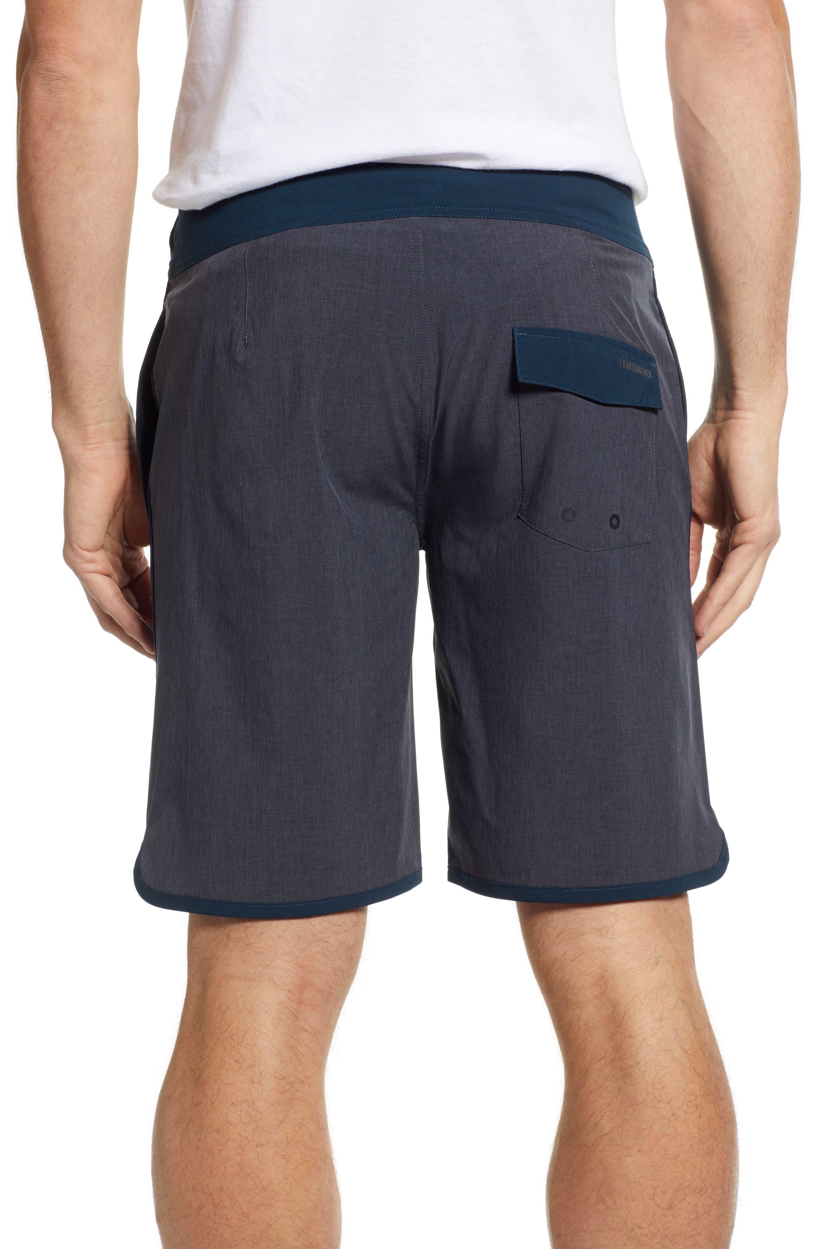 Yoni Hybrid Shorts,                             Alternate thumbnail 2, color,                             HEATHER BLACK