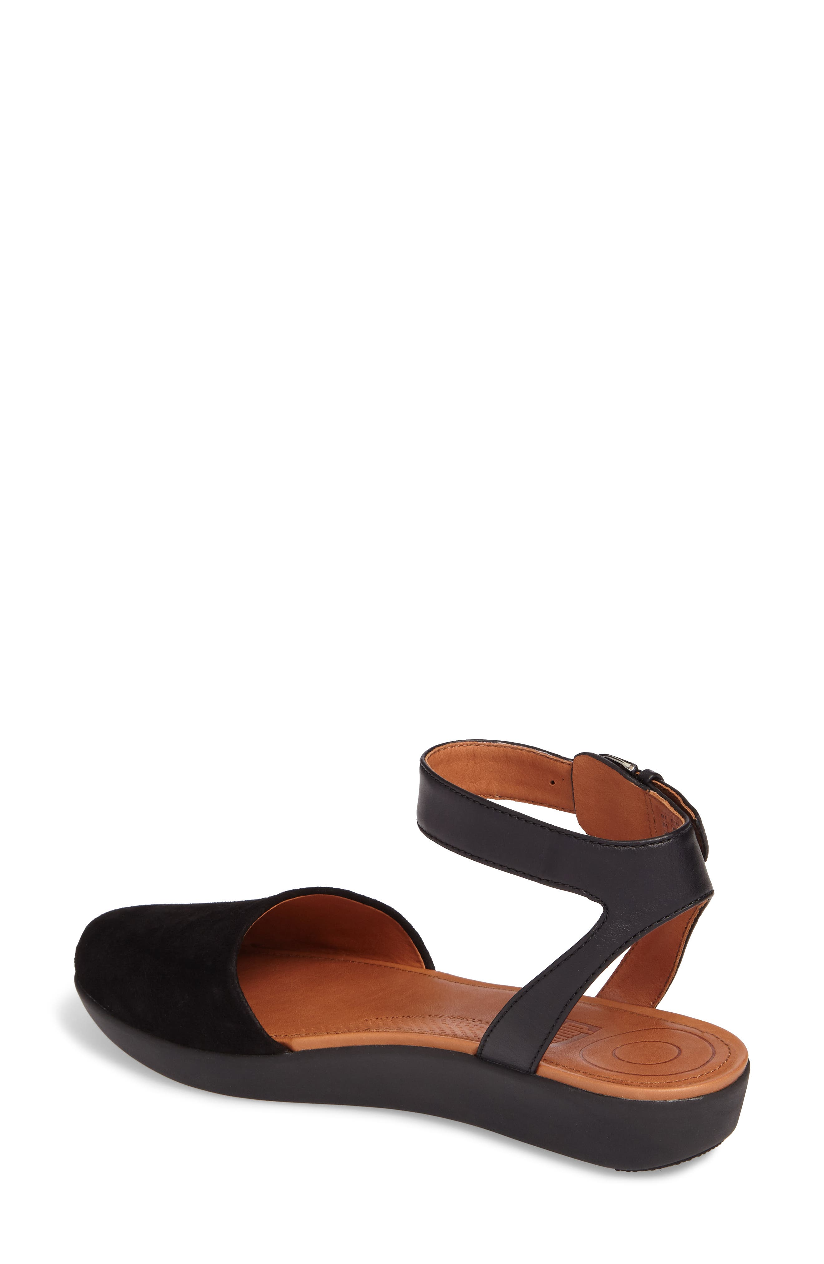 Cova Ankle Strap Sandal,                             Alternate thumbnail 2, color,                             001