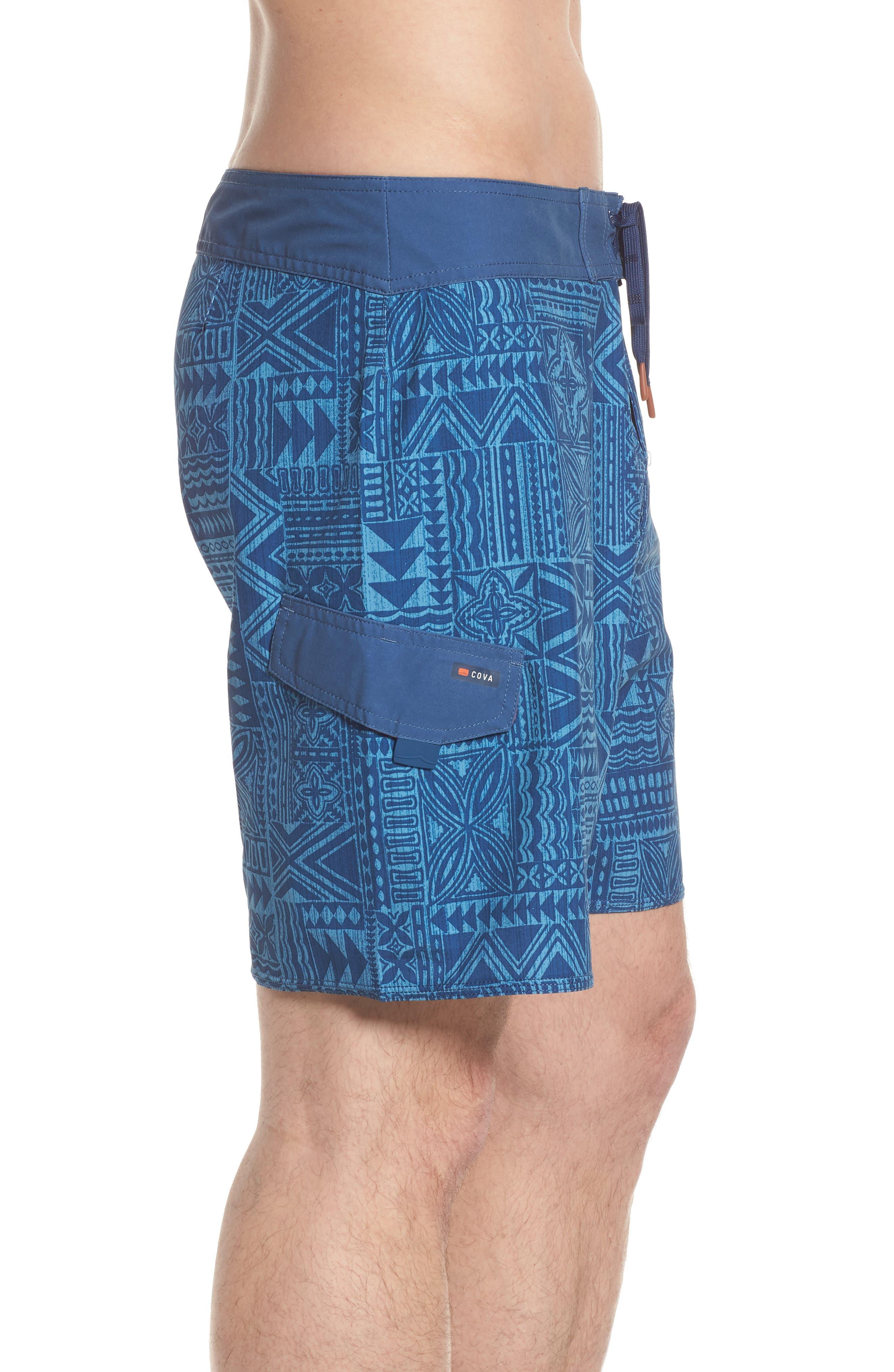 COVA,                             Diamond Head Board Shorts,                             Alternate thumbnail 4, color,                             410