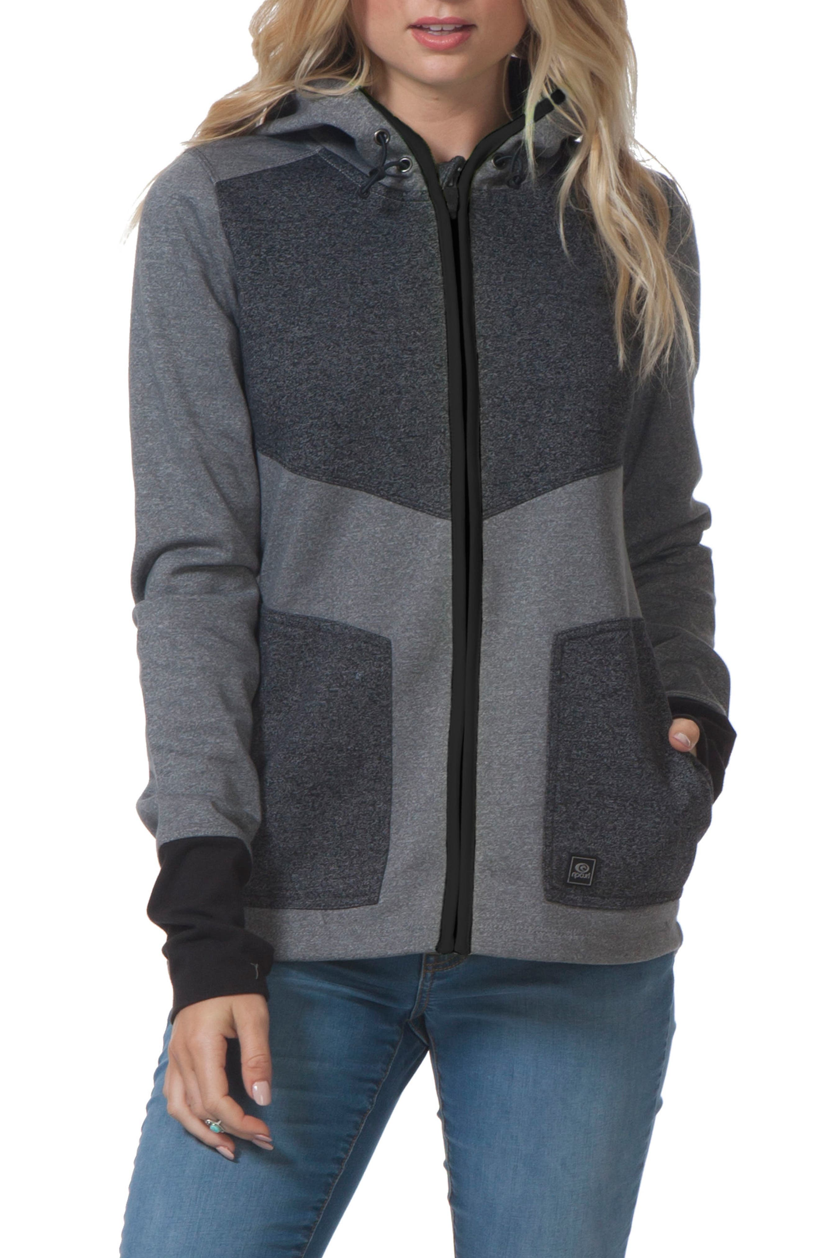 Espy Anti Series Hooded Jacket,                             Main thumbnail 1, color,                             020