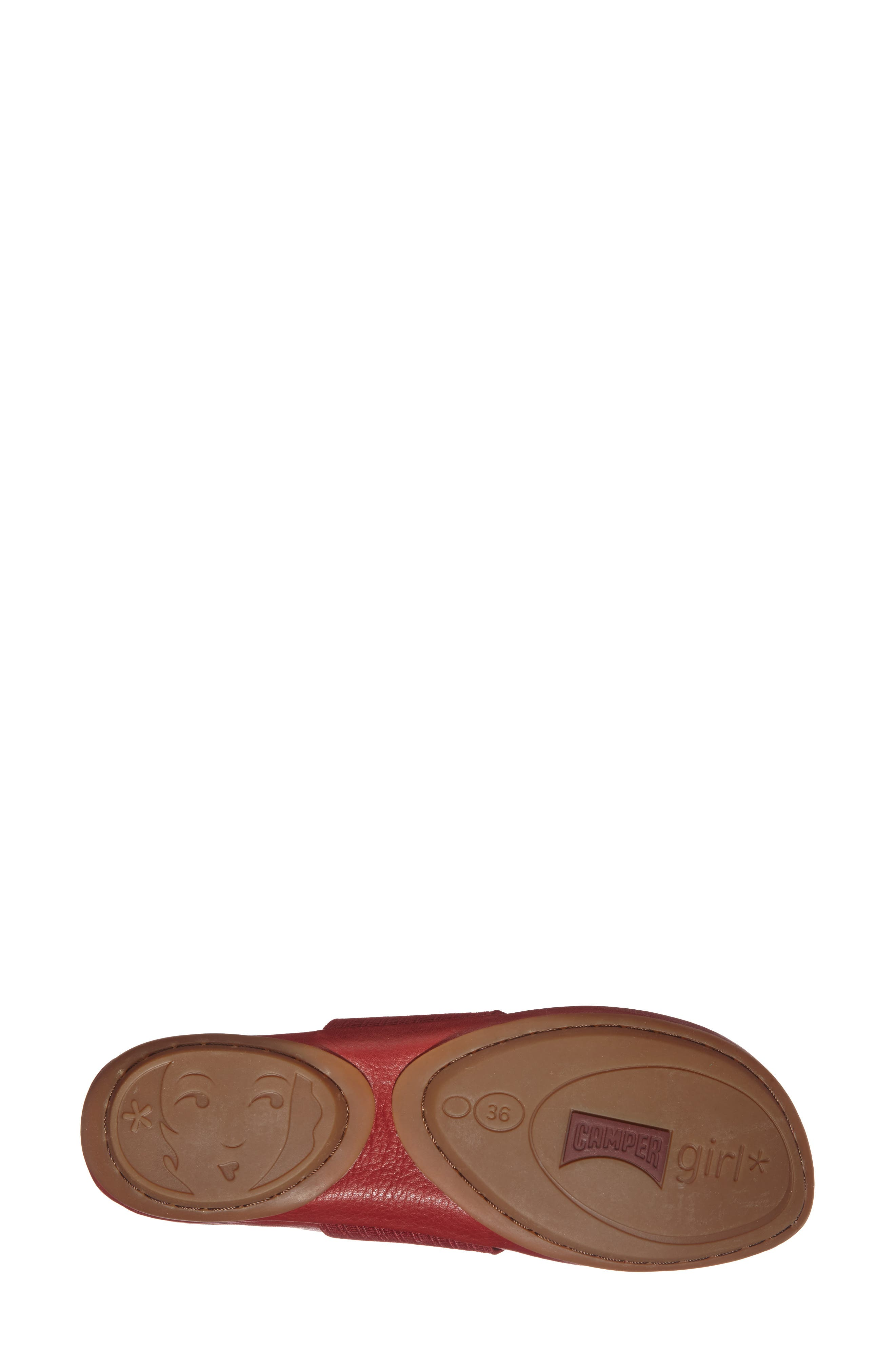 'Right Nina' Leather Ballerina Flat,                             Alternate thumbnail 96, color,