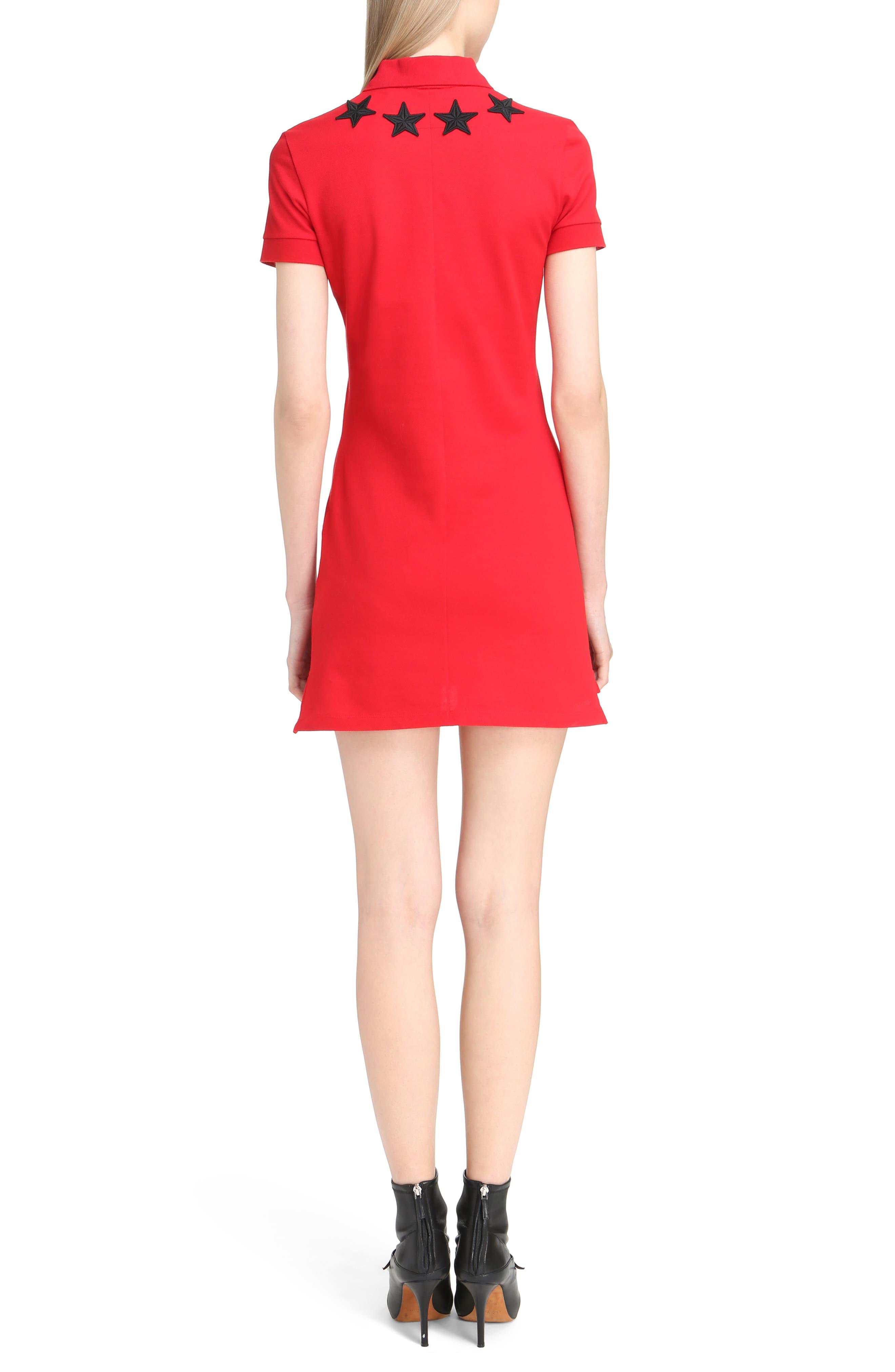 Star Embellished Polo Dress,                             Alternate thumbnail 2, color,                             606