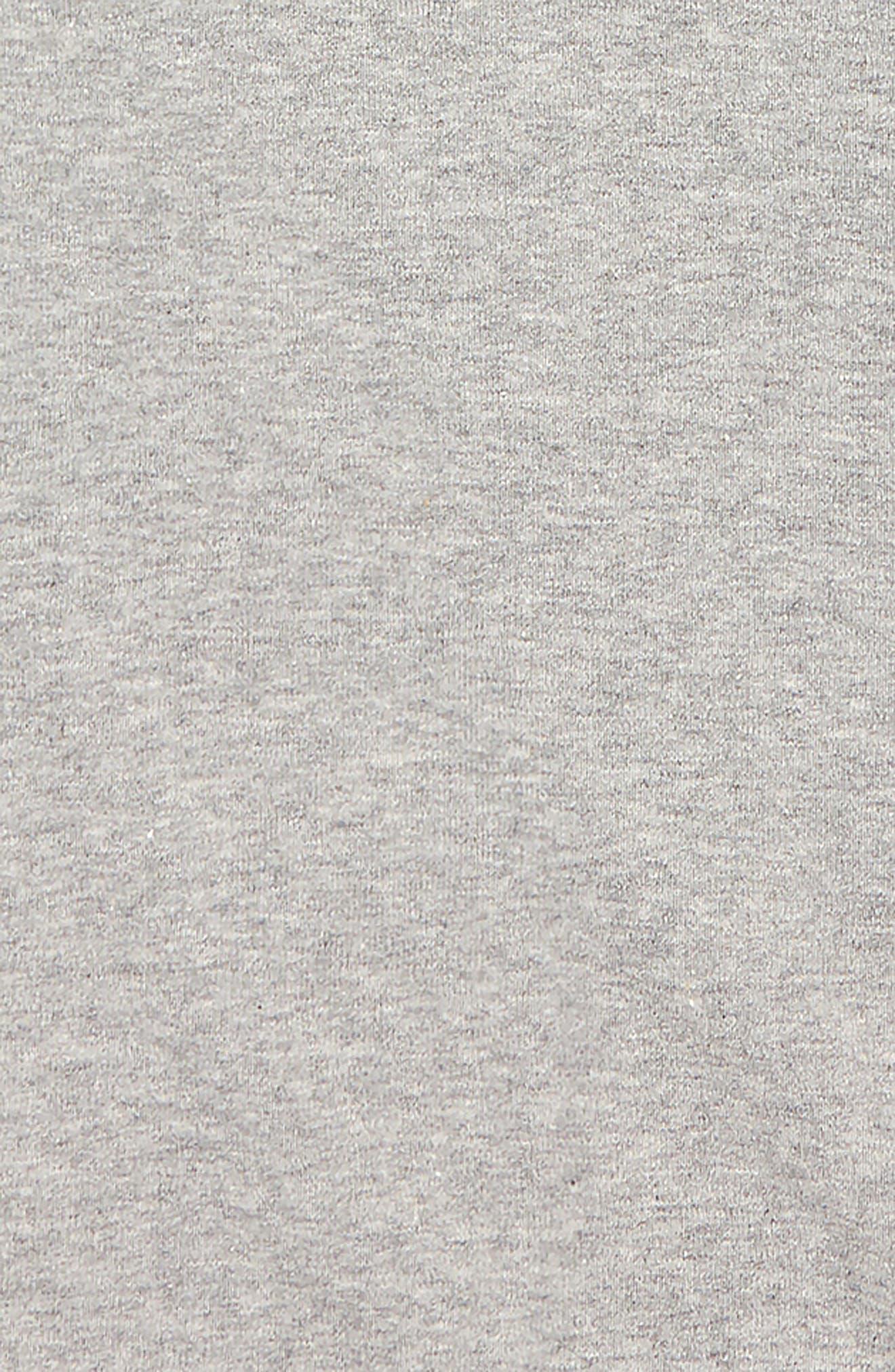 Ninja Hooded Shirt,                             Alternate thumbnail 2, color,                             HEATHER GREY