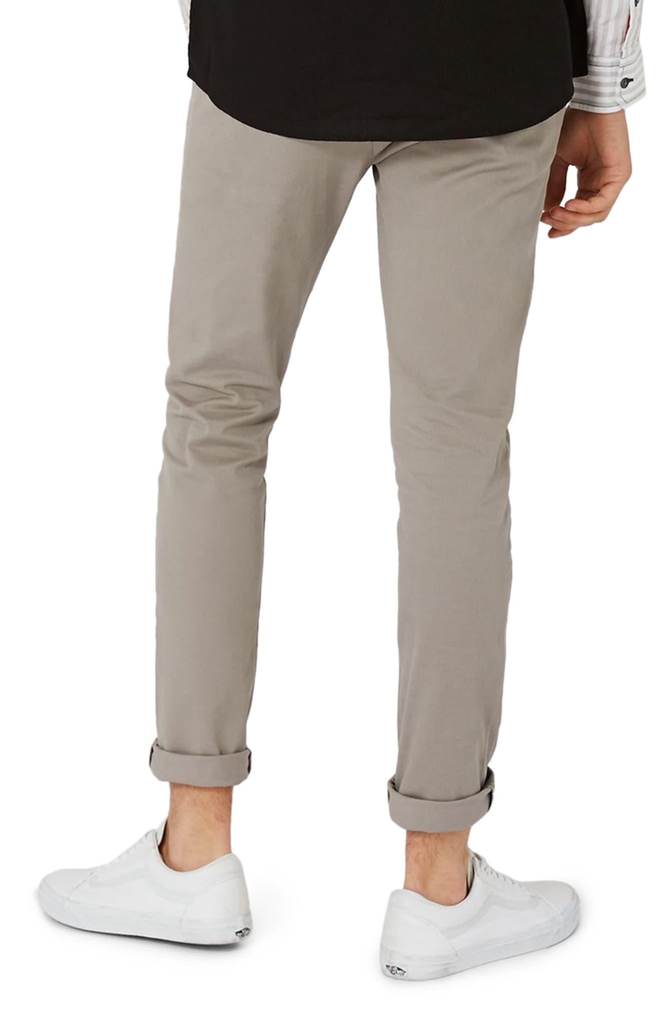 Skinny Fit Chinos,                             Alternate thumbnail 3, color,