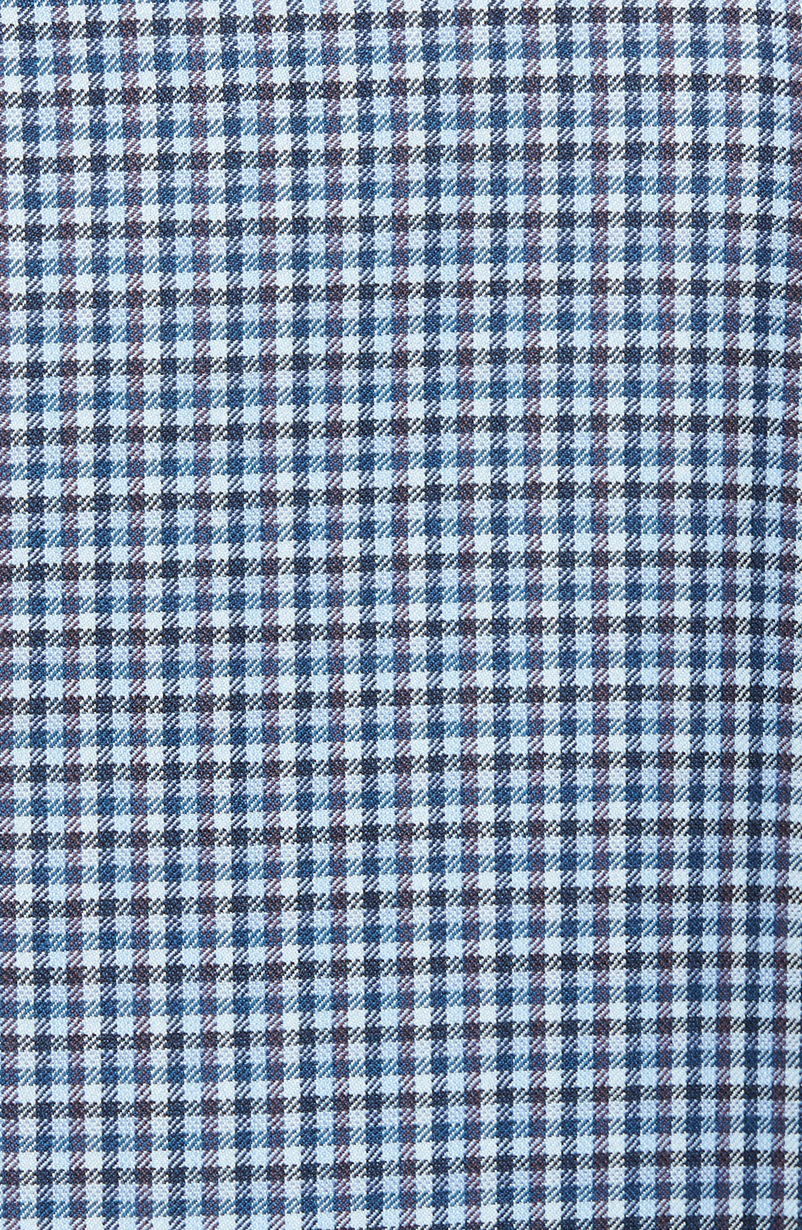 Arnold Classic Fit Check Wool Sport Coat,                             Alternate thumbnail 6, color,                             400