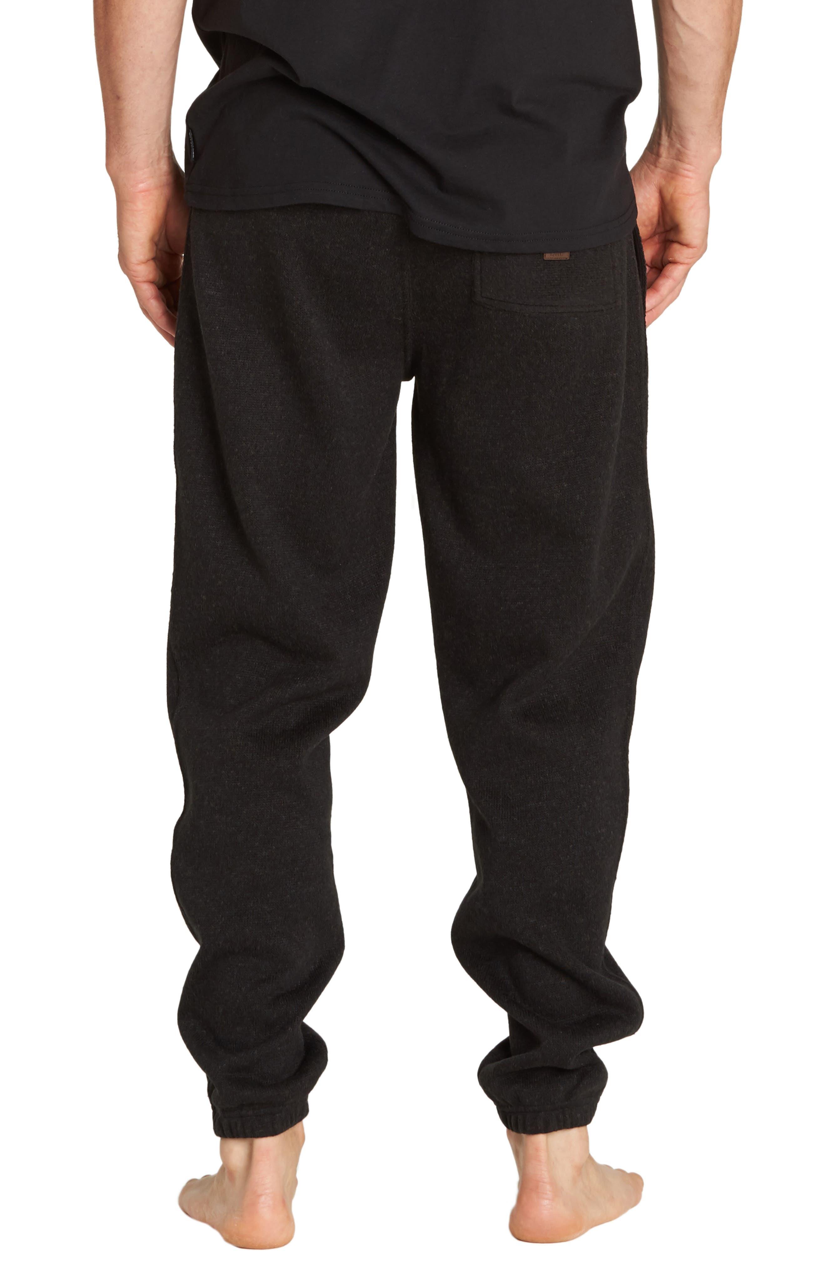 Boundary Sweatpants,                             Alternate thumbnail 2, color,                             BLACK HEATHER