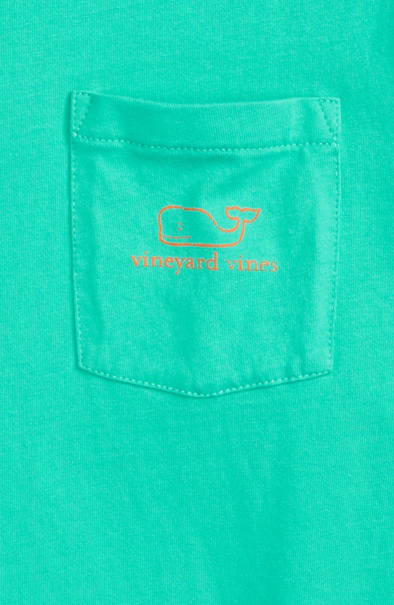 Vintage Whale Graphic Long Sleeve T-Shirt,                             Alternate thumbnail 3, color,                             386