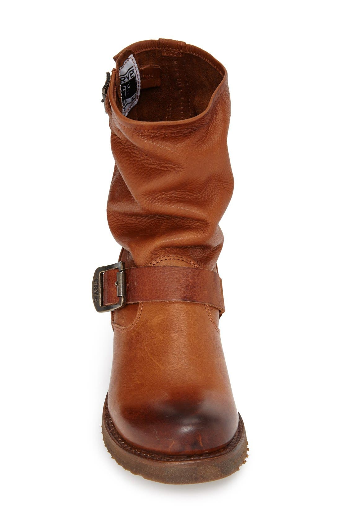 'Veronica Short' Slouchy Boot,                             Alternate thumbnail 22, color,