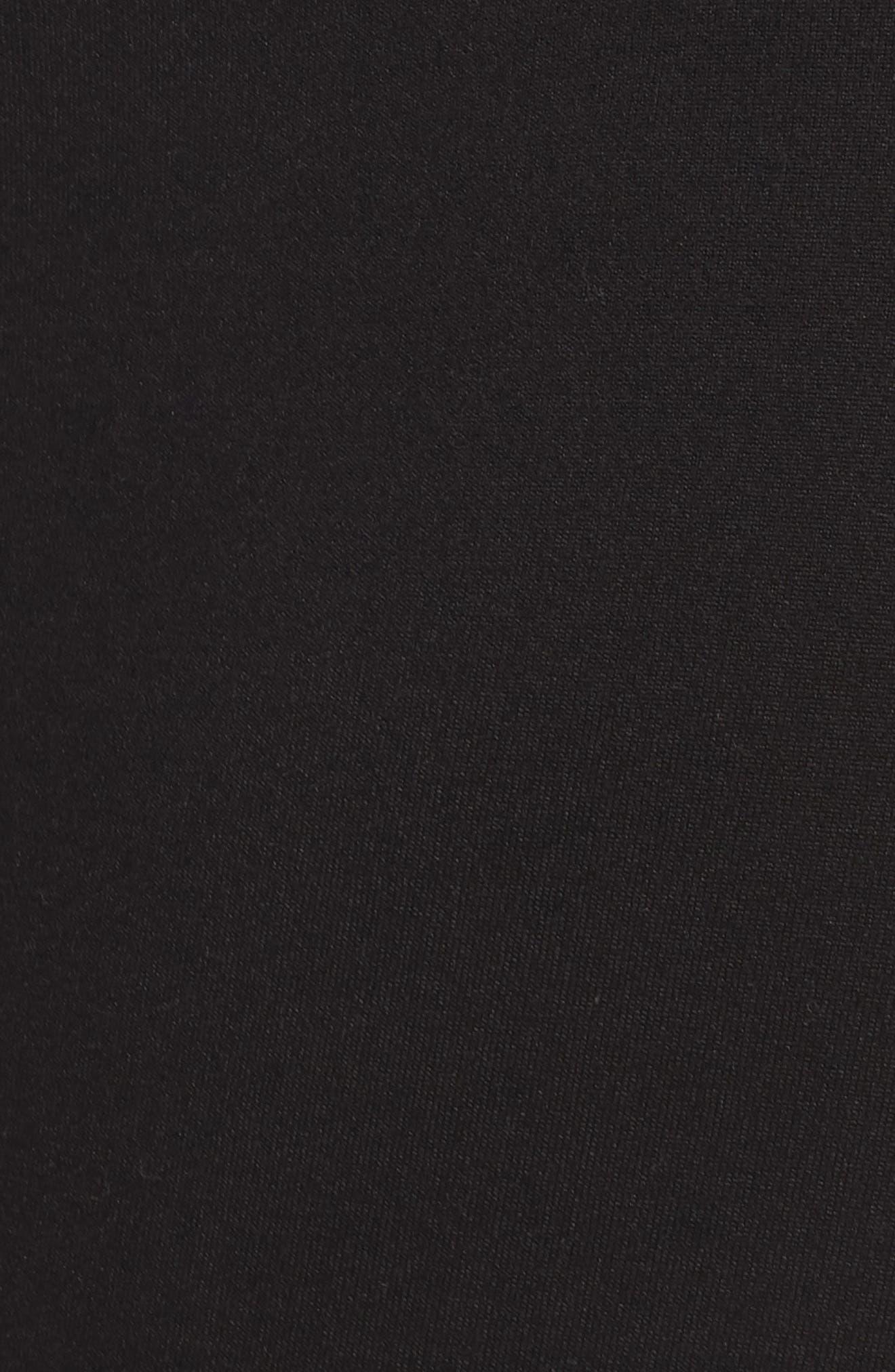 Live In Midi Leggings,                             Alternate thumbnail 12, color,                             BLACK
