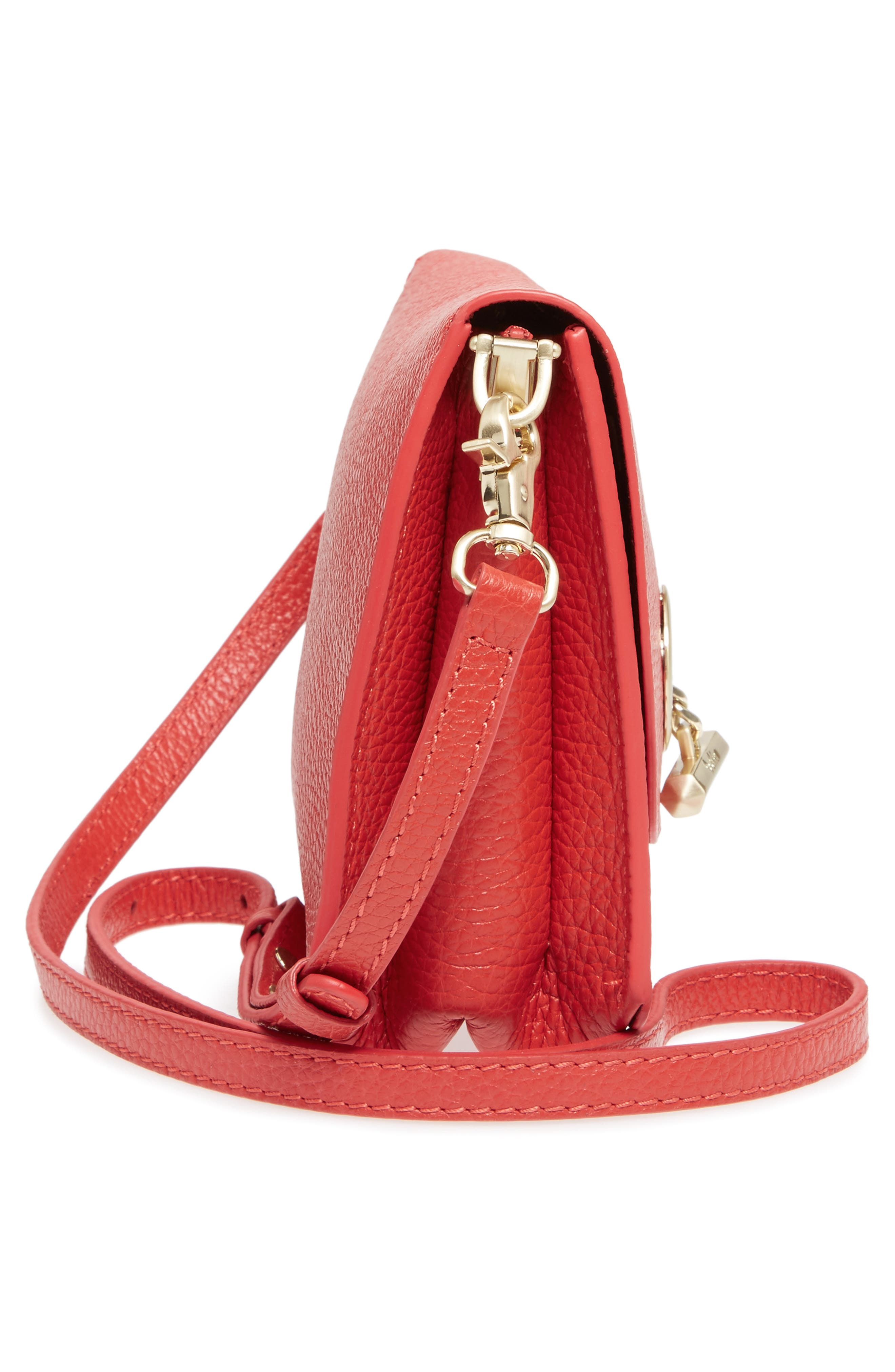 Waverly Leather Crossbody Bag,                             Alternate thumbnail 33, color,