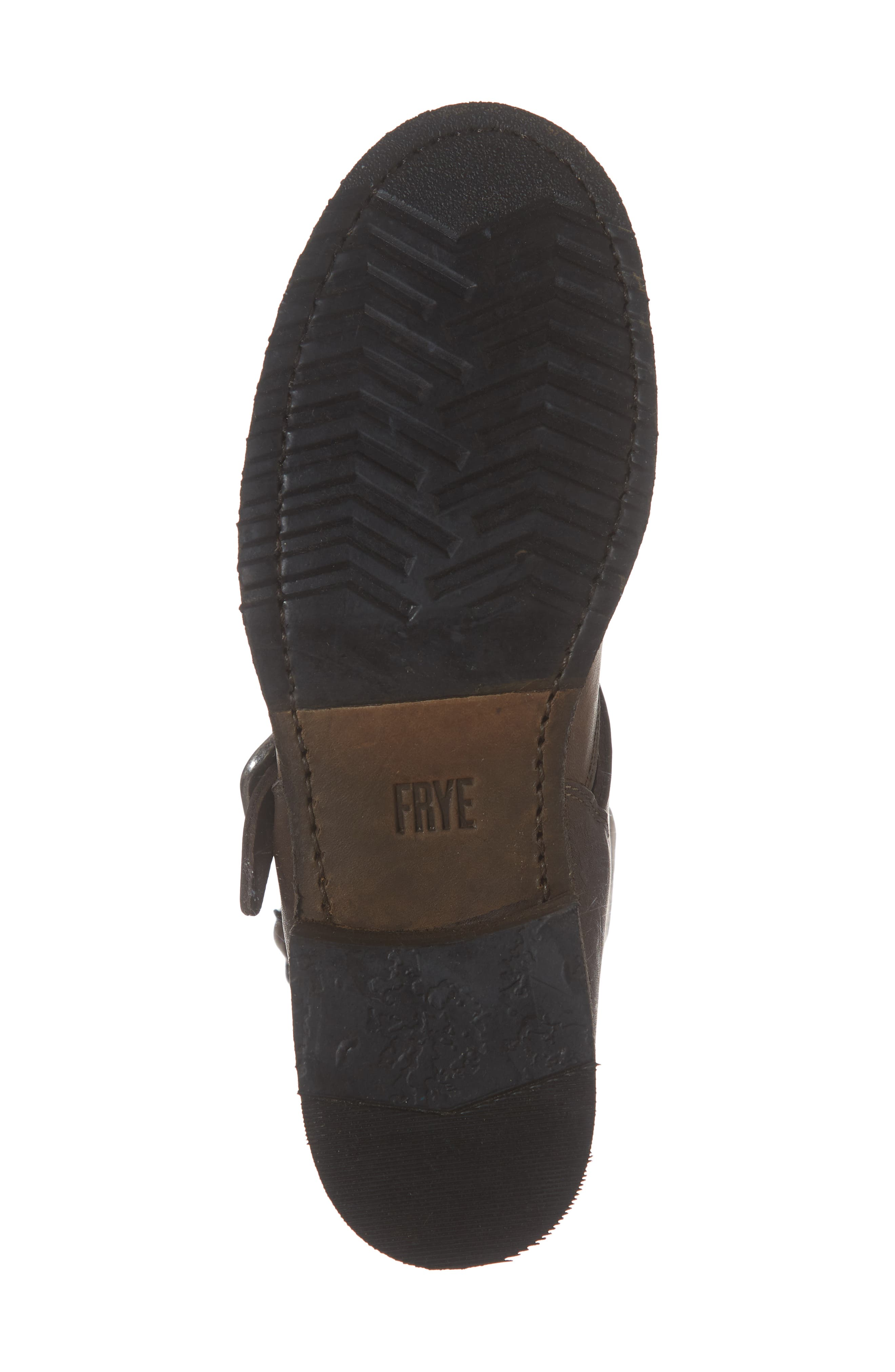 'Veronica' Short Boot,                             Alternate thumbnail 6, color,                             BROWN LEATHER