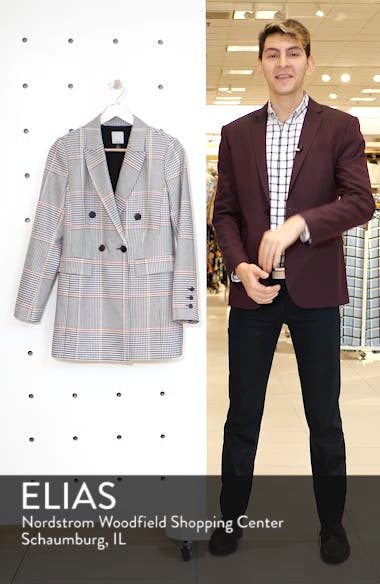 x Atlantic-Pacific Menswear Plaid Blazer, sales video thumbnail