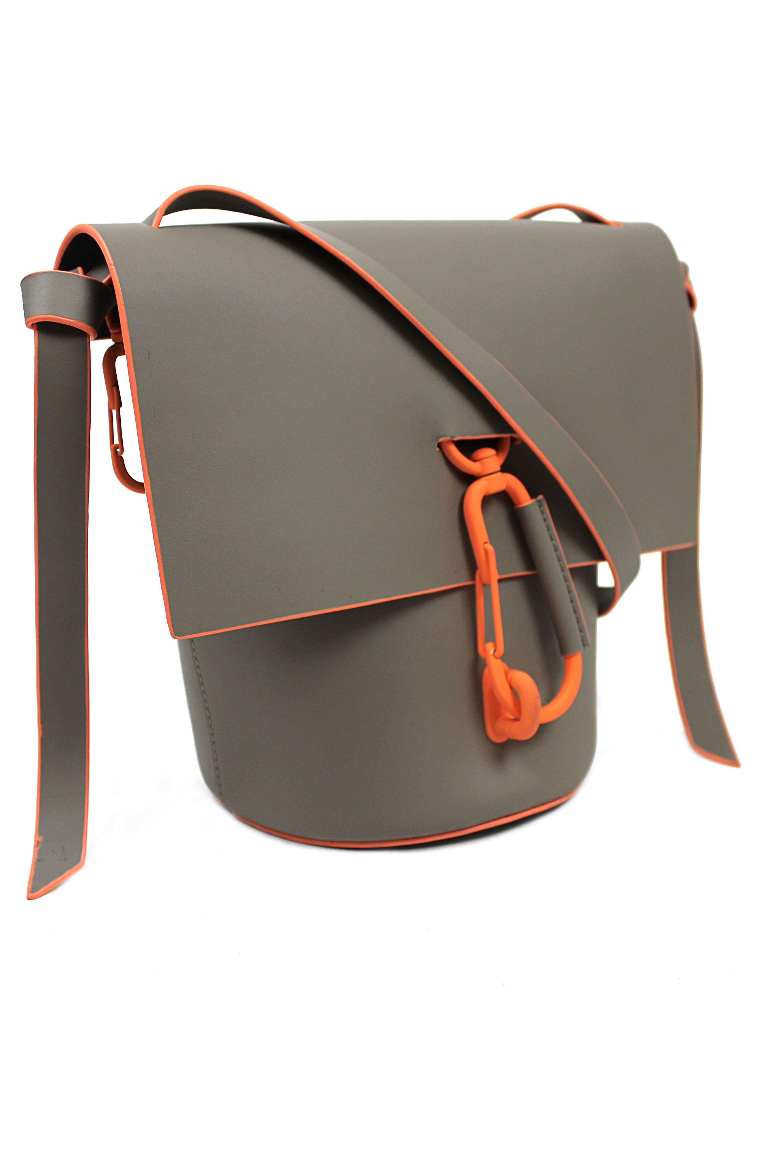 Belay Leather Crossbody Bag,                             Alternate thumbnail 3, color,                             022