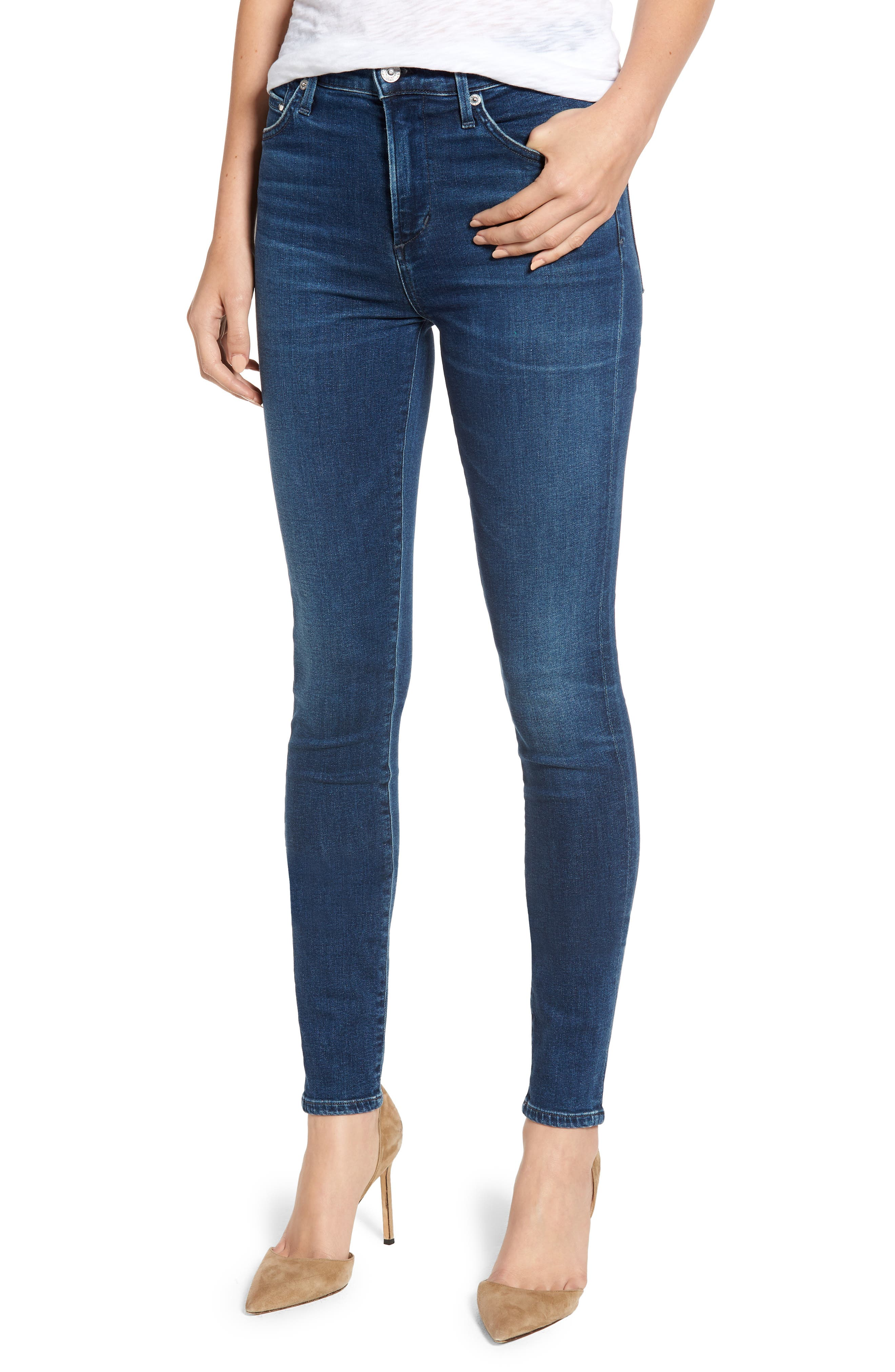 CITIZENS OF HUMANITY Rocket Skinny Jeans, Main, color, GLORY