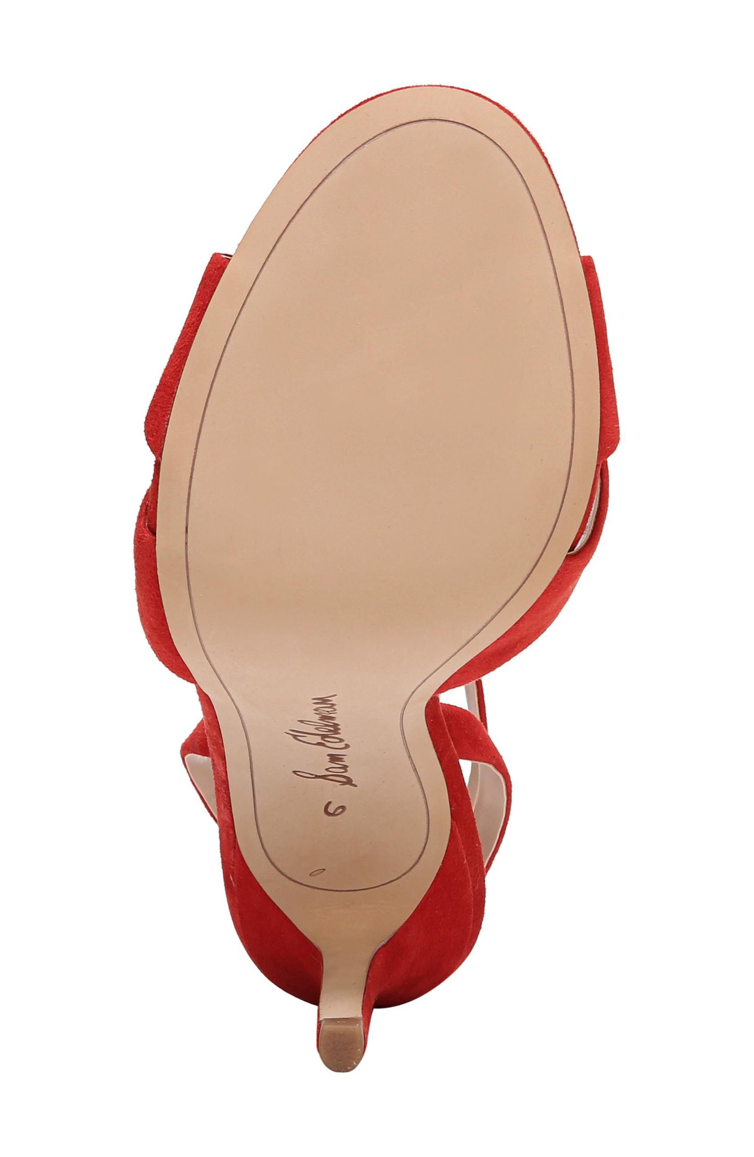Aly Ankle Strap Sandal,                             Alternate thumbnail 35, color,