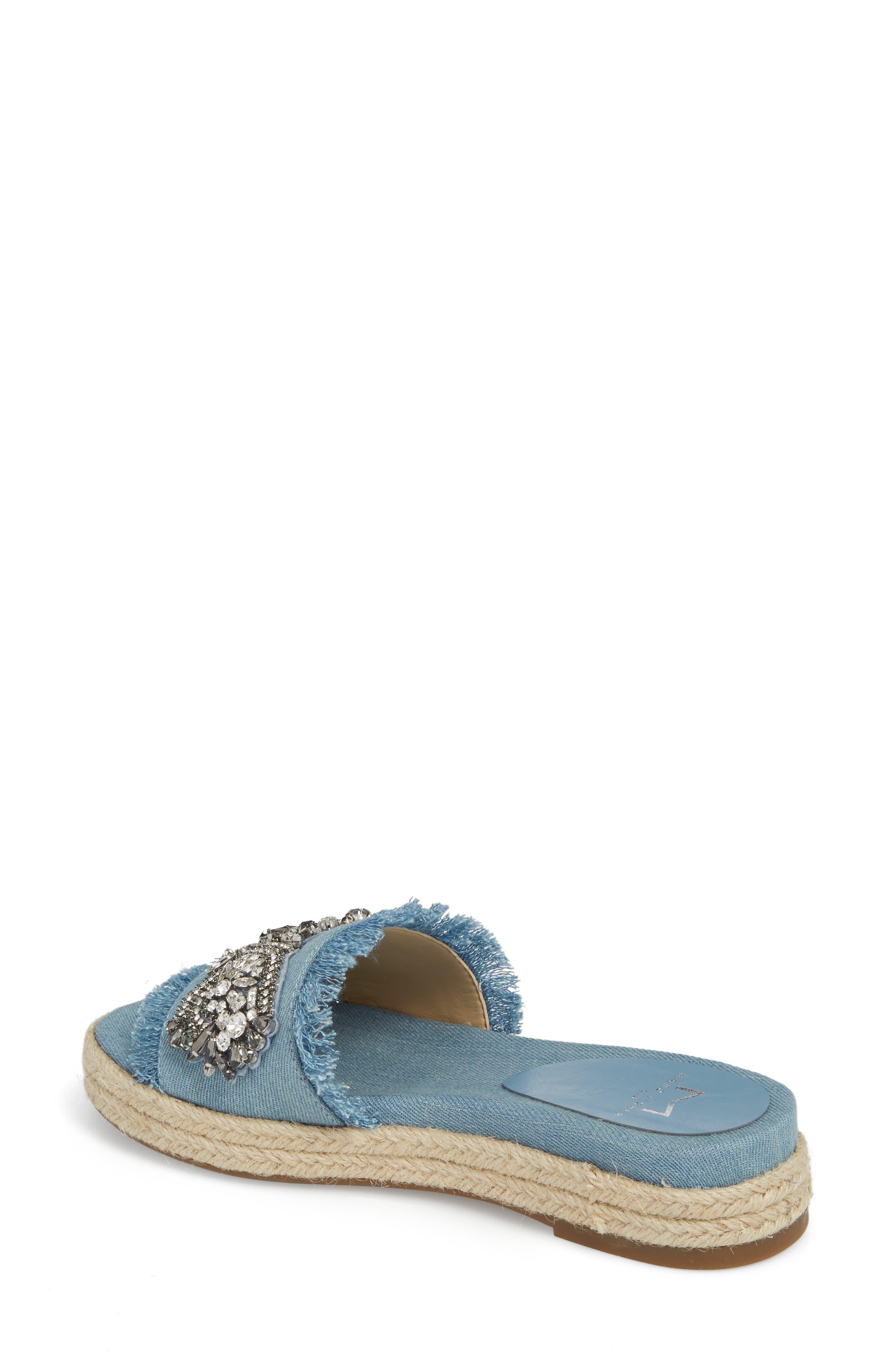 Jelly II Embellished Sandal,                             Alternate thumbnail 4, color,