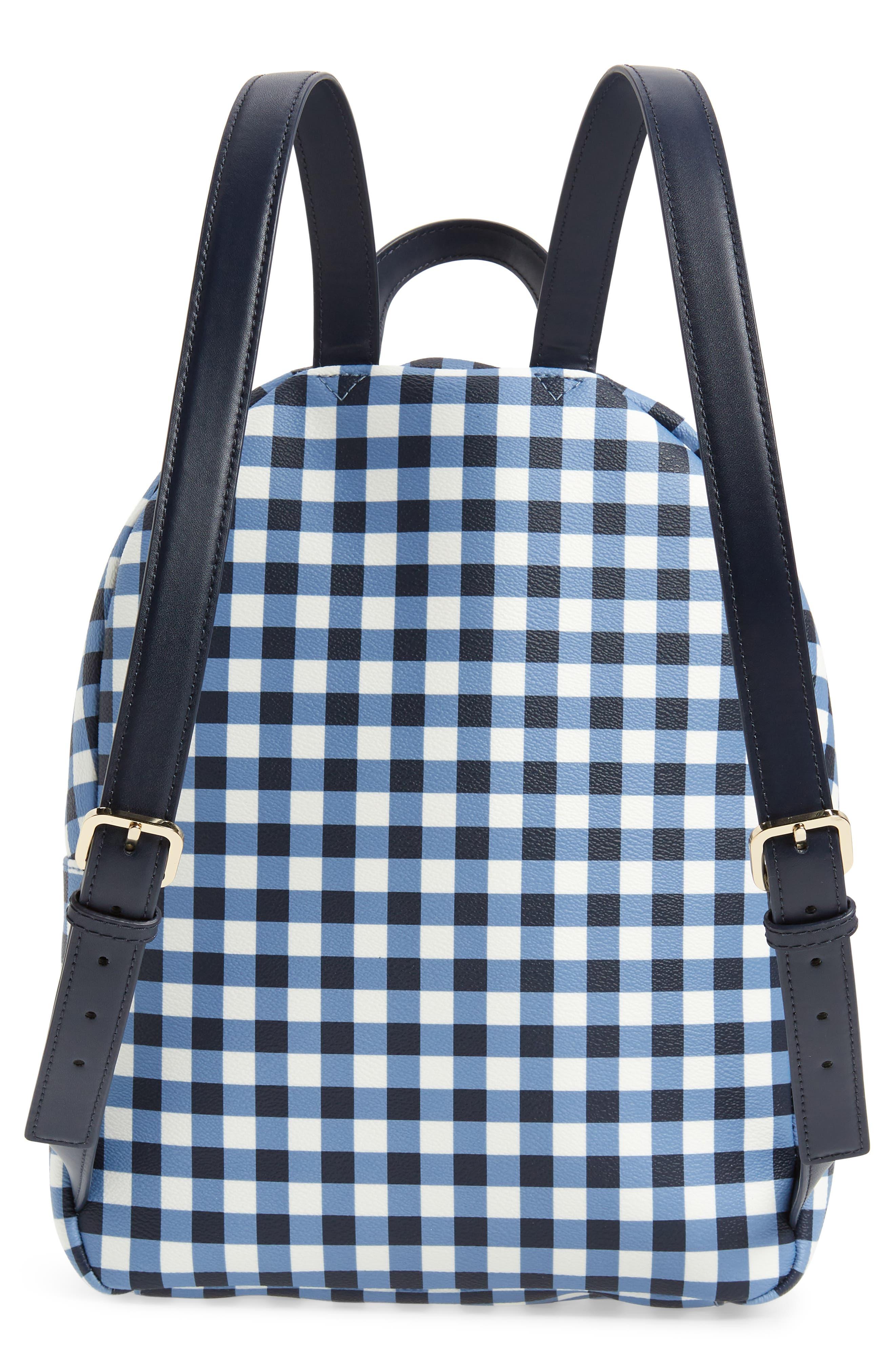 hyde lane hartley gingham backpack,                             Alternate thumbnail 3, color,                             400