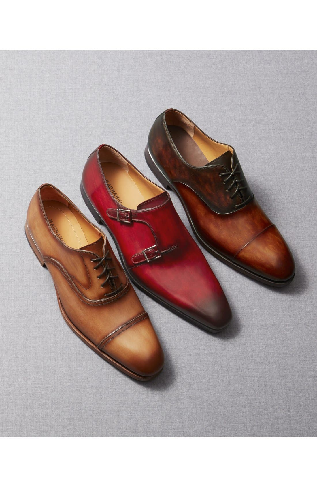Golay Cap Toe Oxford,                             Alternate thumbnail 5, color,                             CUERO LEATHER