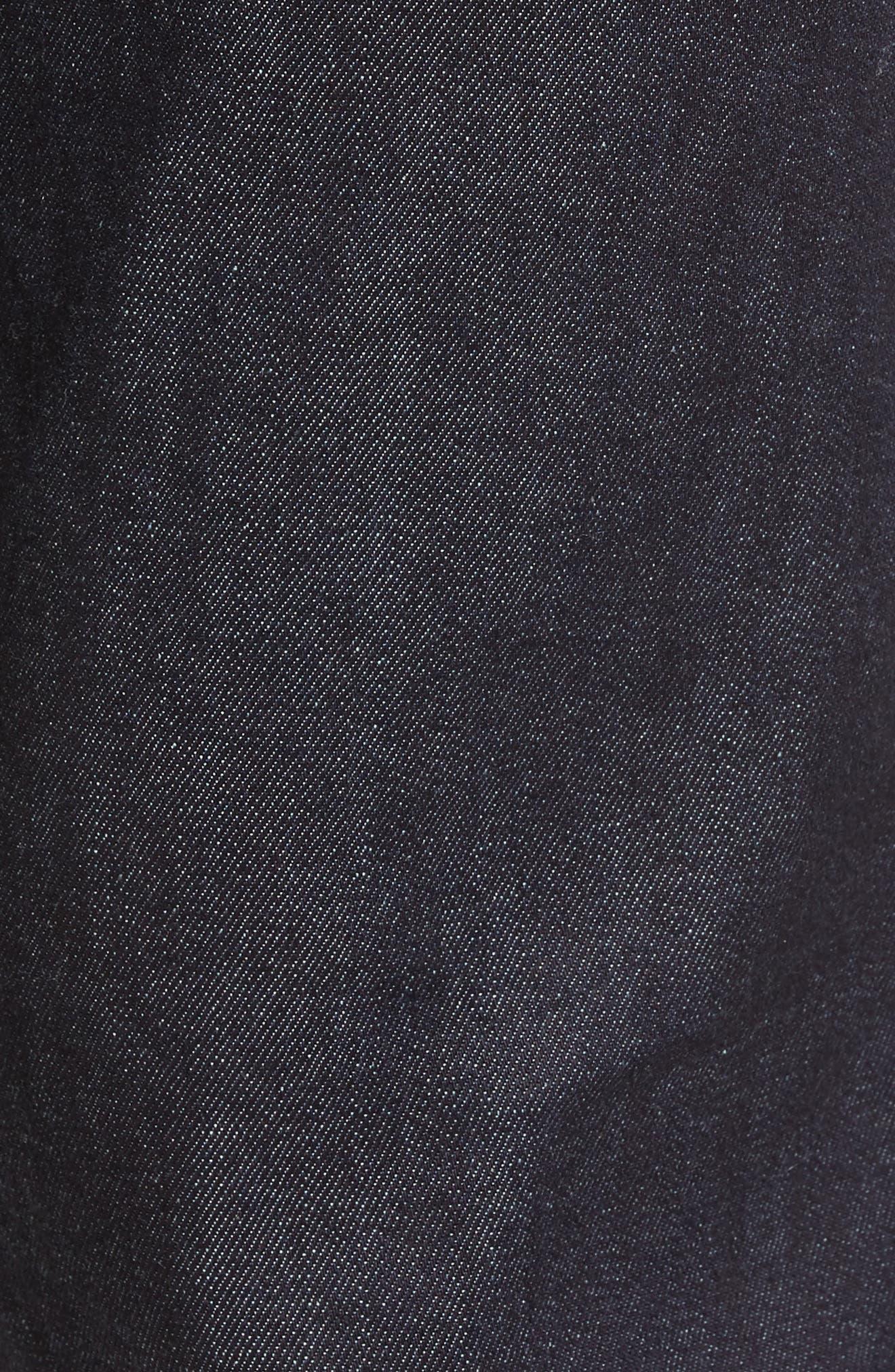 Sid Classic Straight Leg Jeans,                             Alternate thumbnail 6, color,                             LAFAYETTE