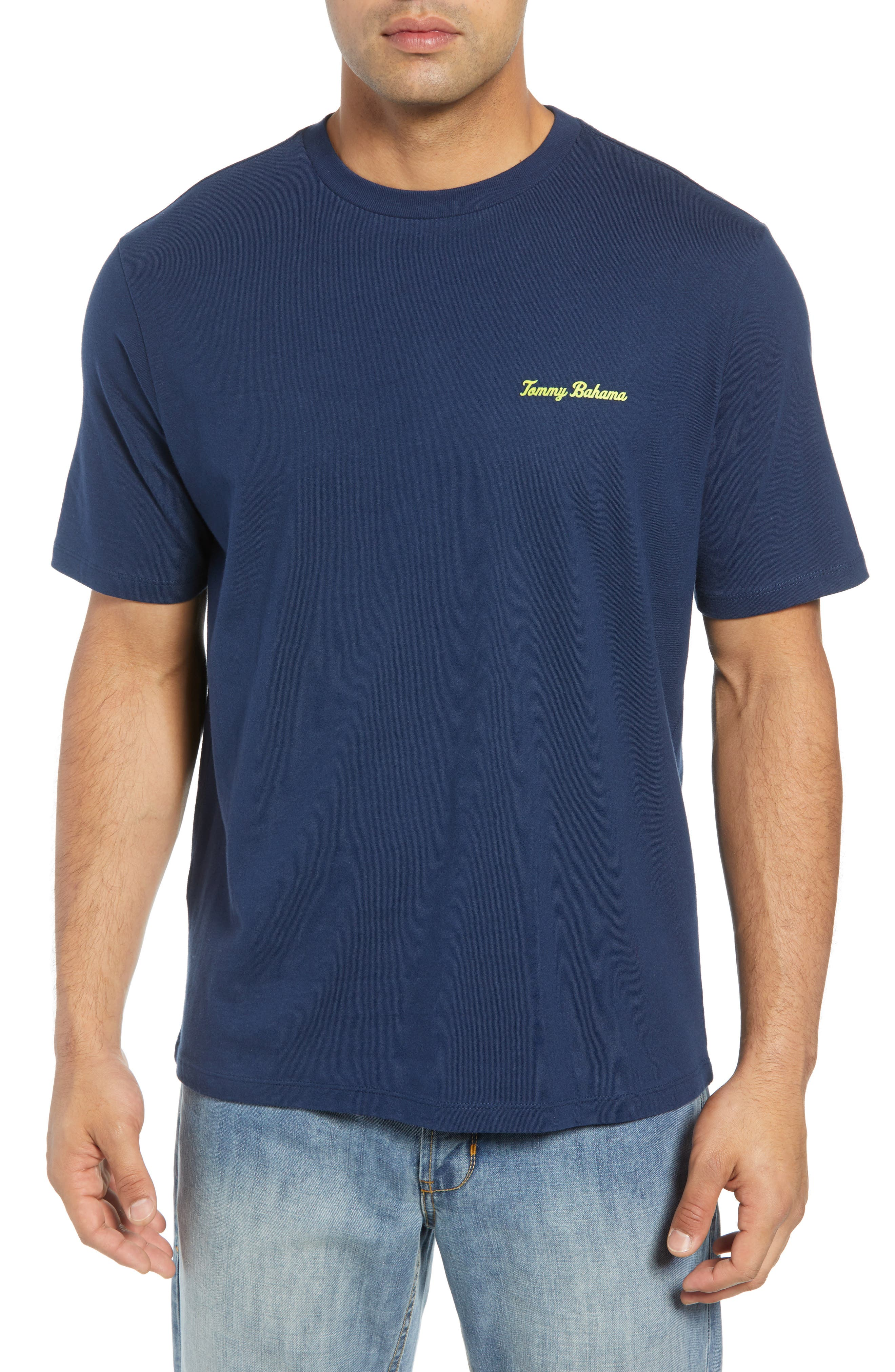 Absolute Parfection T-Shirt,                         Main,                         color, NAVY