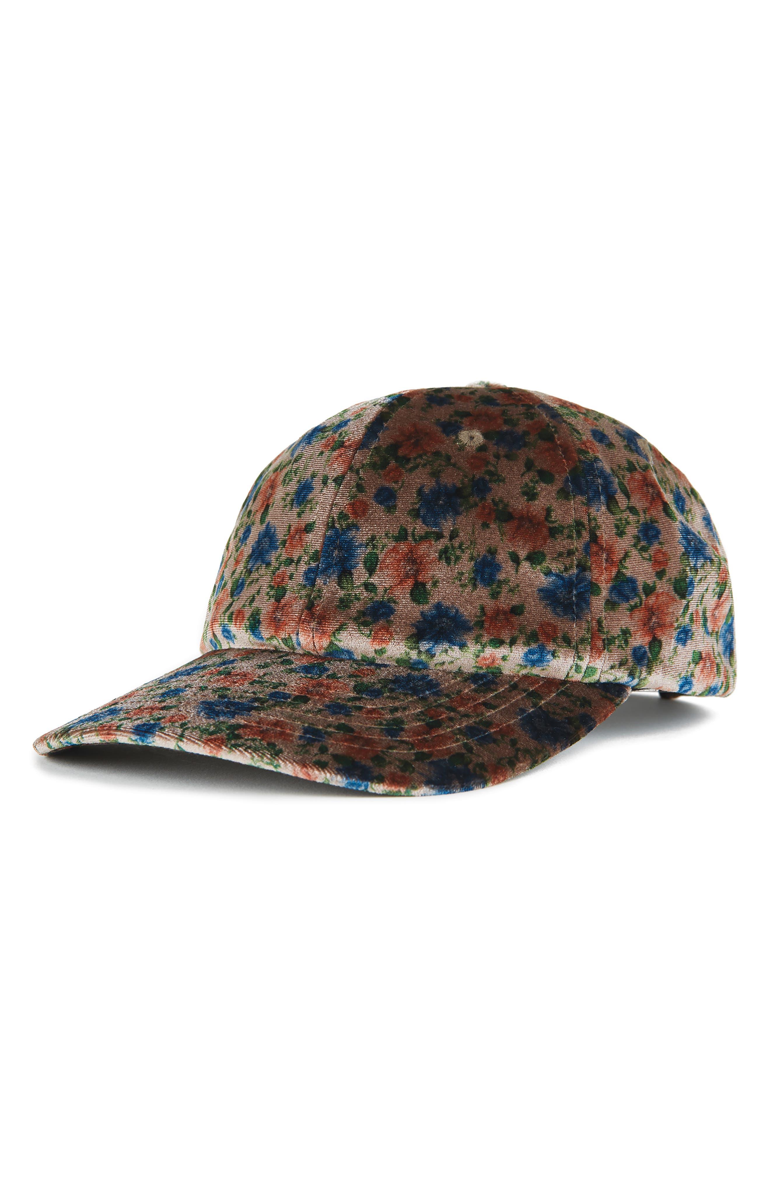Belford Baseball Cap,                         Main,                         color, FLOWERS