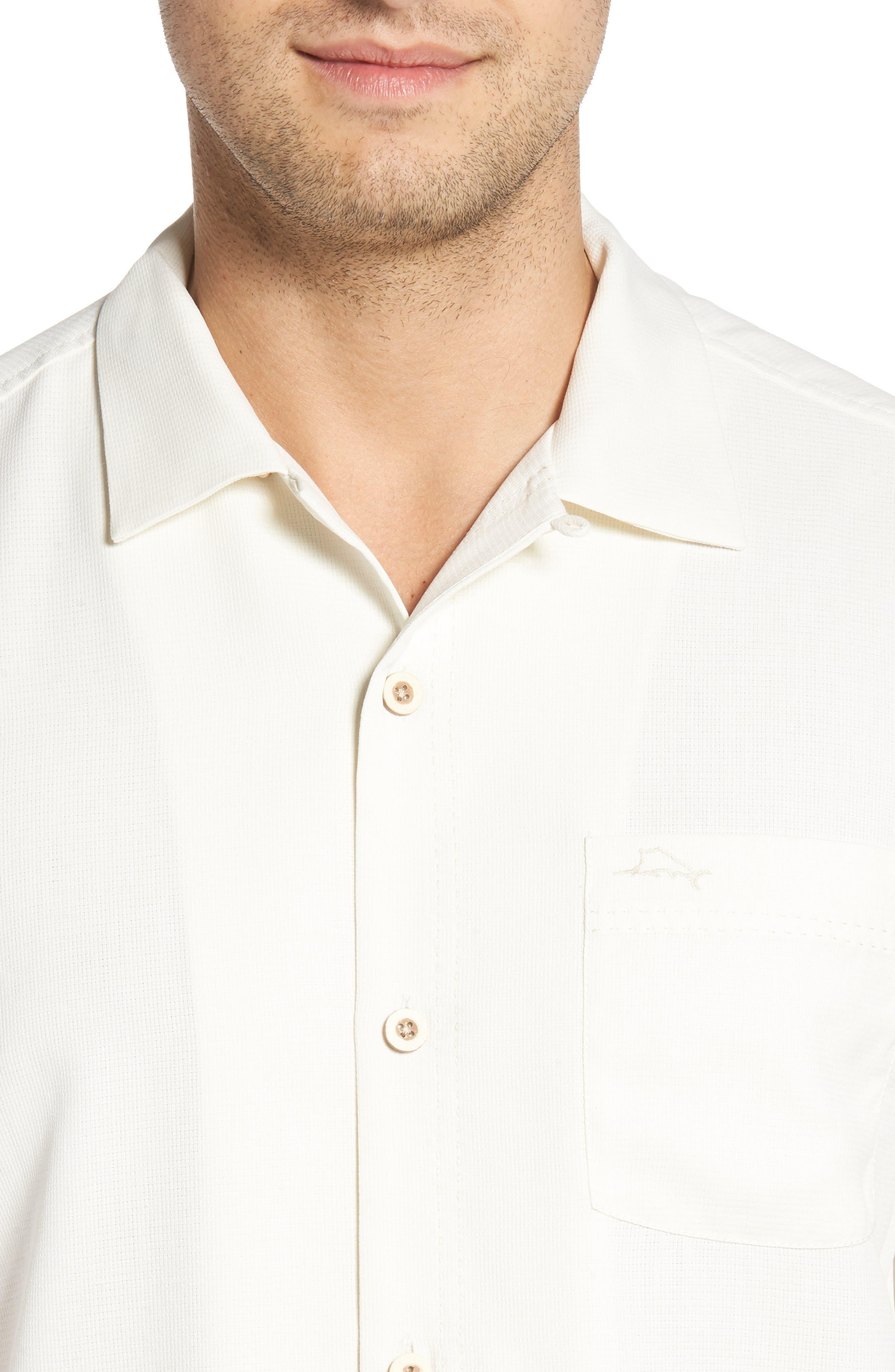 TOMMY BAHAMA,                             Royal Bermuda Silk Blend Camp Shirt,                             Alternate thumbnail 4, color,                             CONTINENTAL
