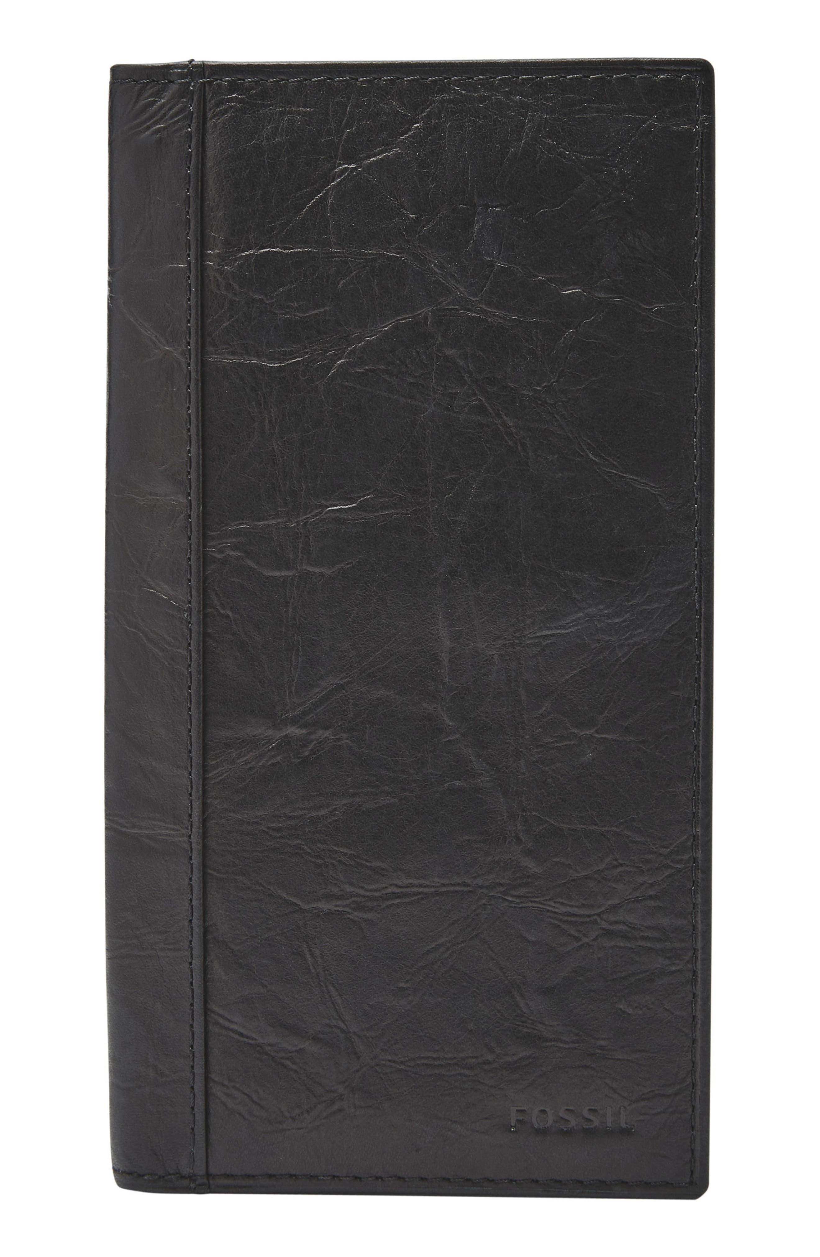 Neel Leather Executive Wallet,                             Main thumbnail 1, color,                             001