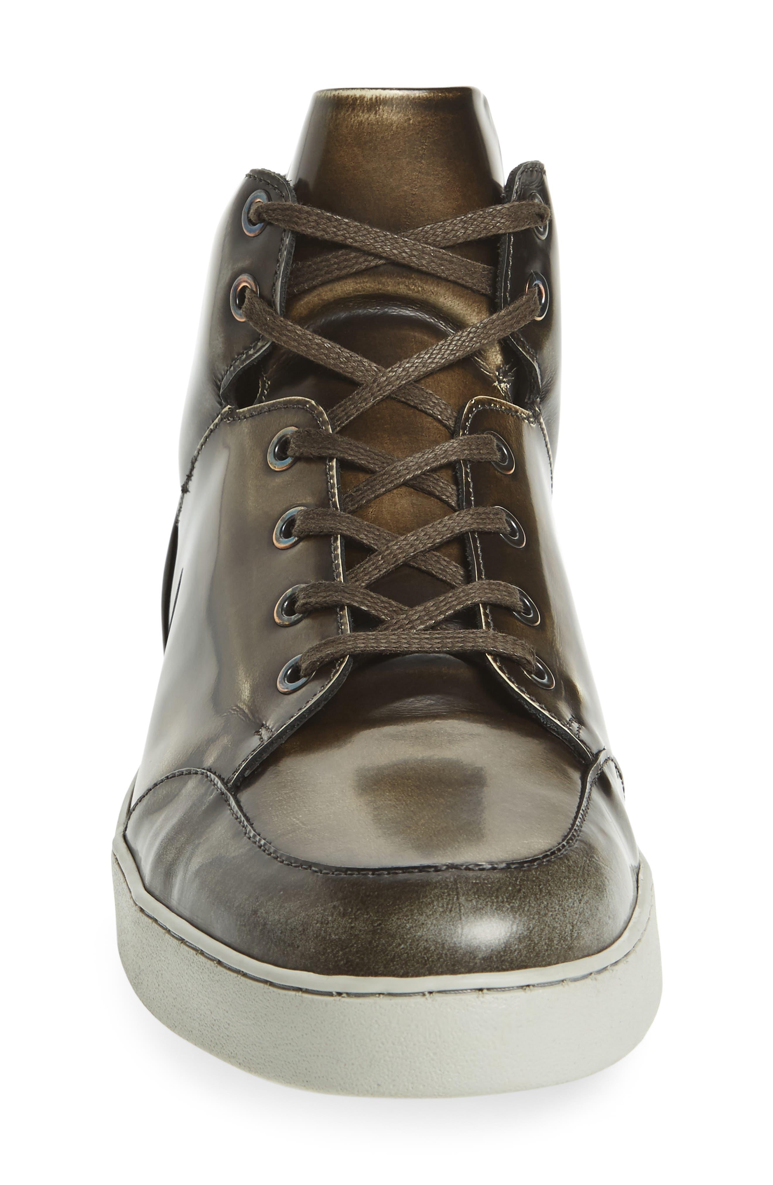 Gidean High Top Sneaker,                             Alternate thumbnail 3, color,                             006