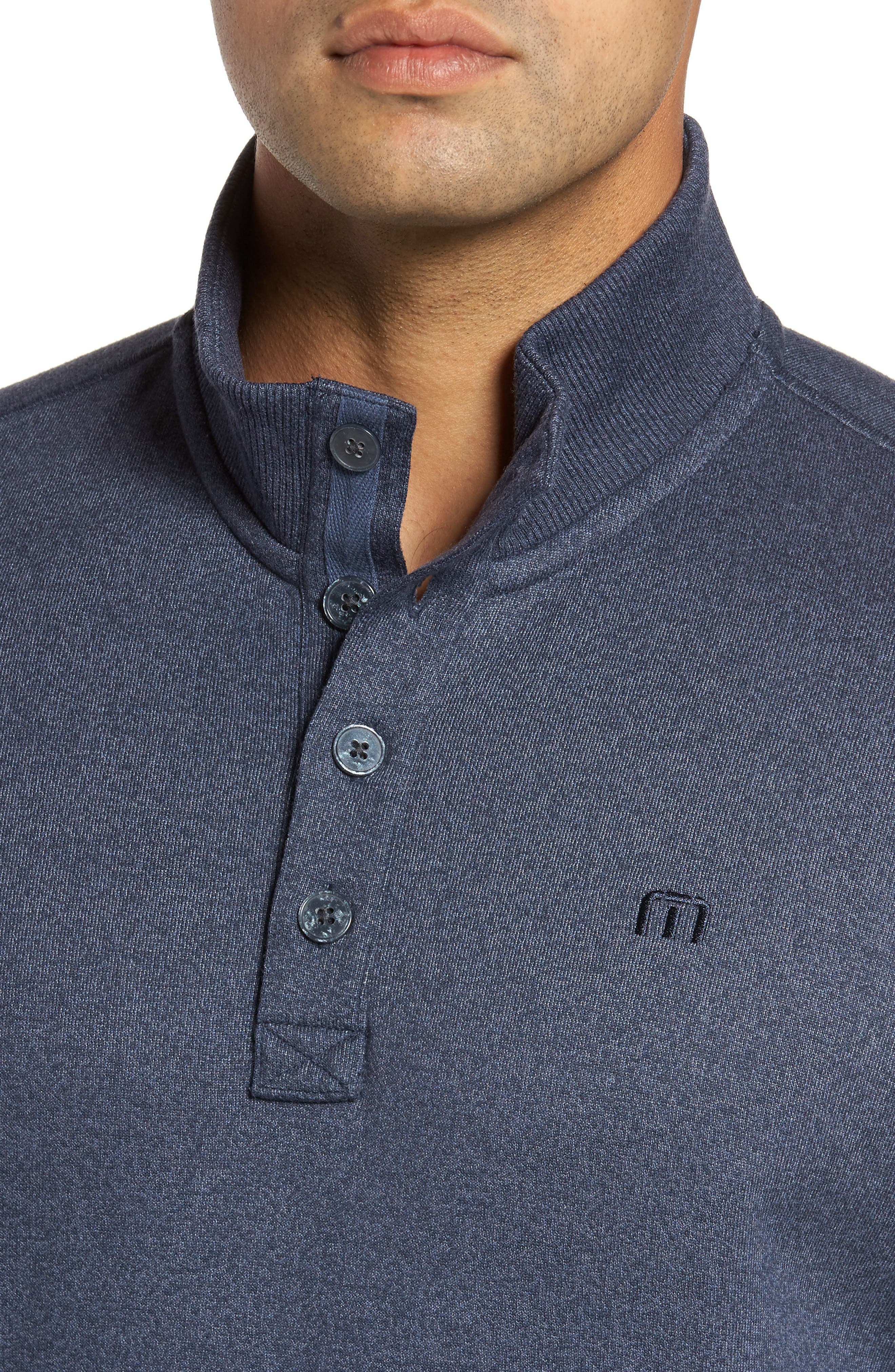 'Wall' Mock Neck Pullover,                             Alternate thumbnail 4, color,                             401