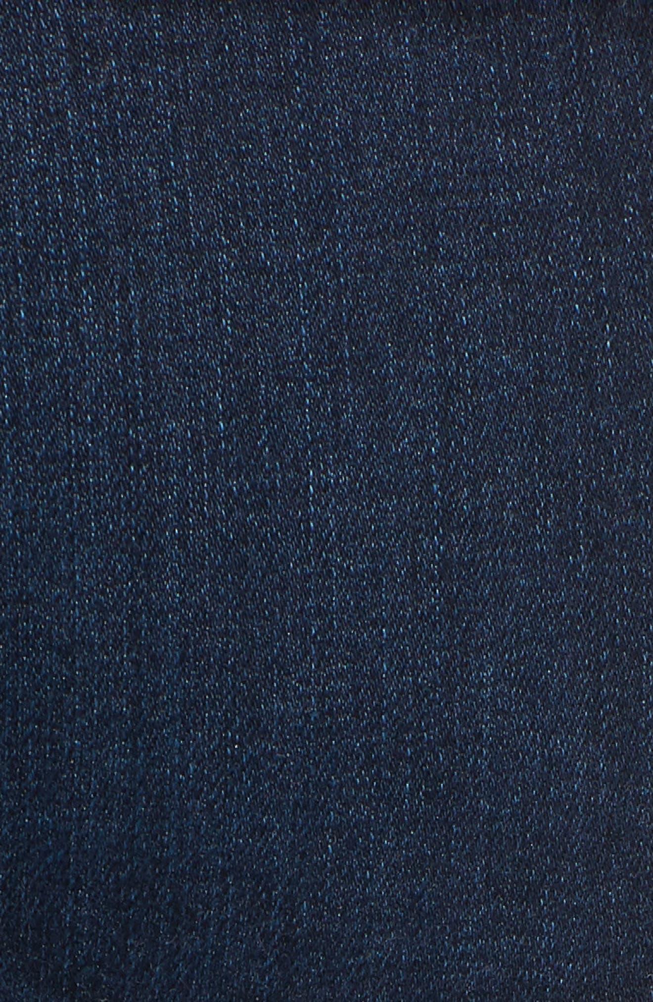 Transcend Vintage - Skyline Crop Skinny Jeans,                             Alternate thumbnail 6, color,                             LUELLA