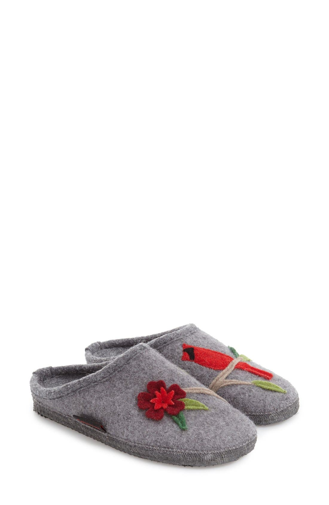 'Angela' Wool Slipper,                         Main,                         color,