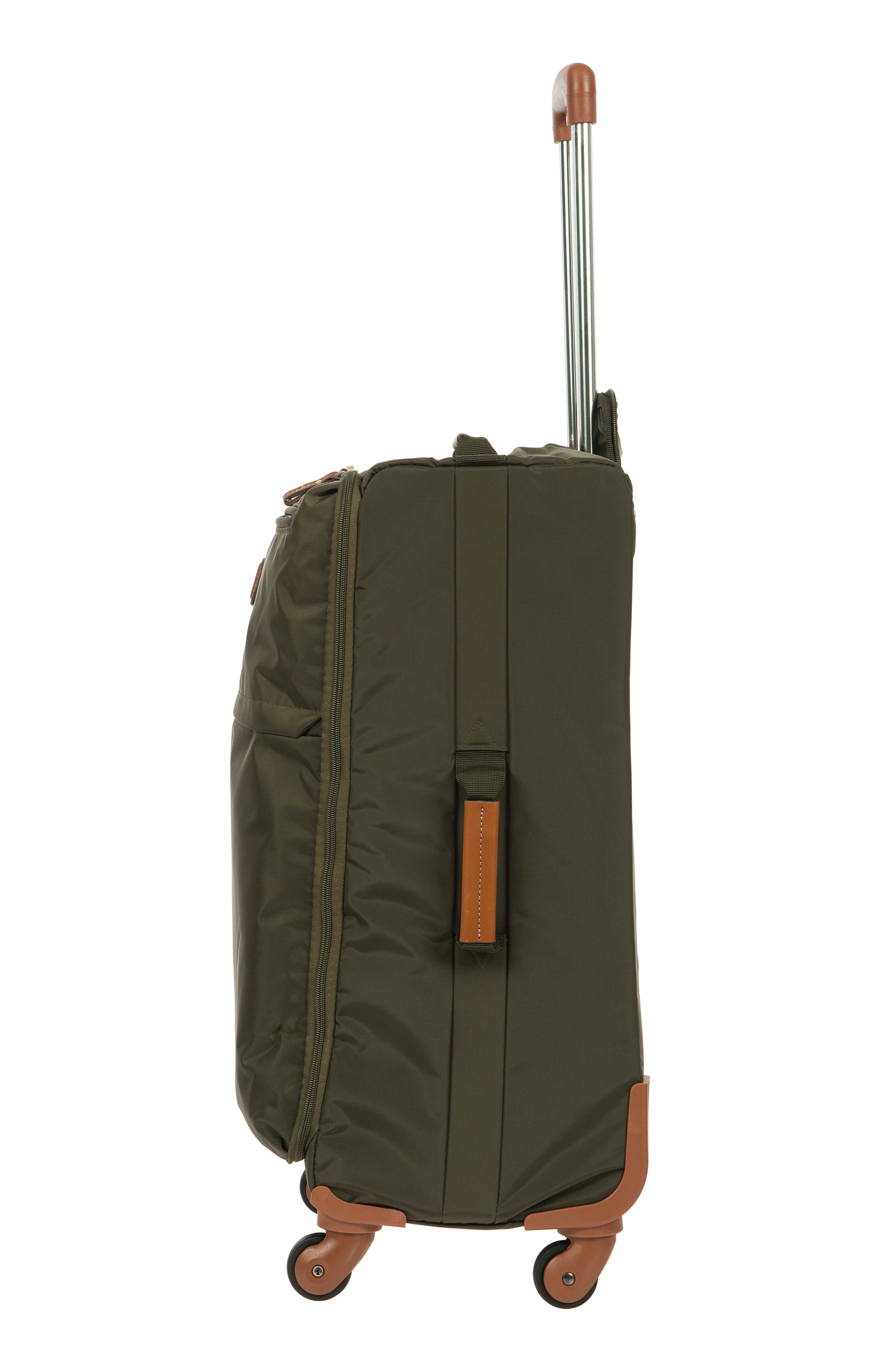 X-Bag 25-Inch Spinner Suitcase,                             Alternate thumbnail 3, color,                             OLIVE