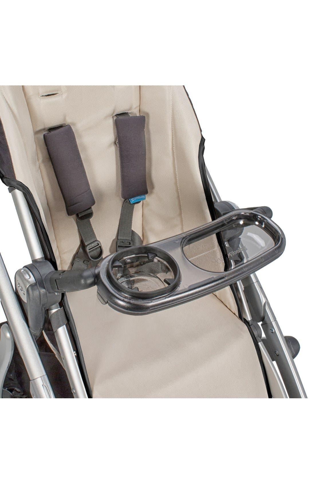 VISTA & CRUZ Stroller Snack Tray,                             Alternate thumbnail 2, color,                             BLACK