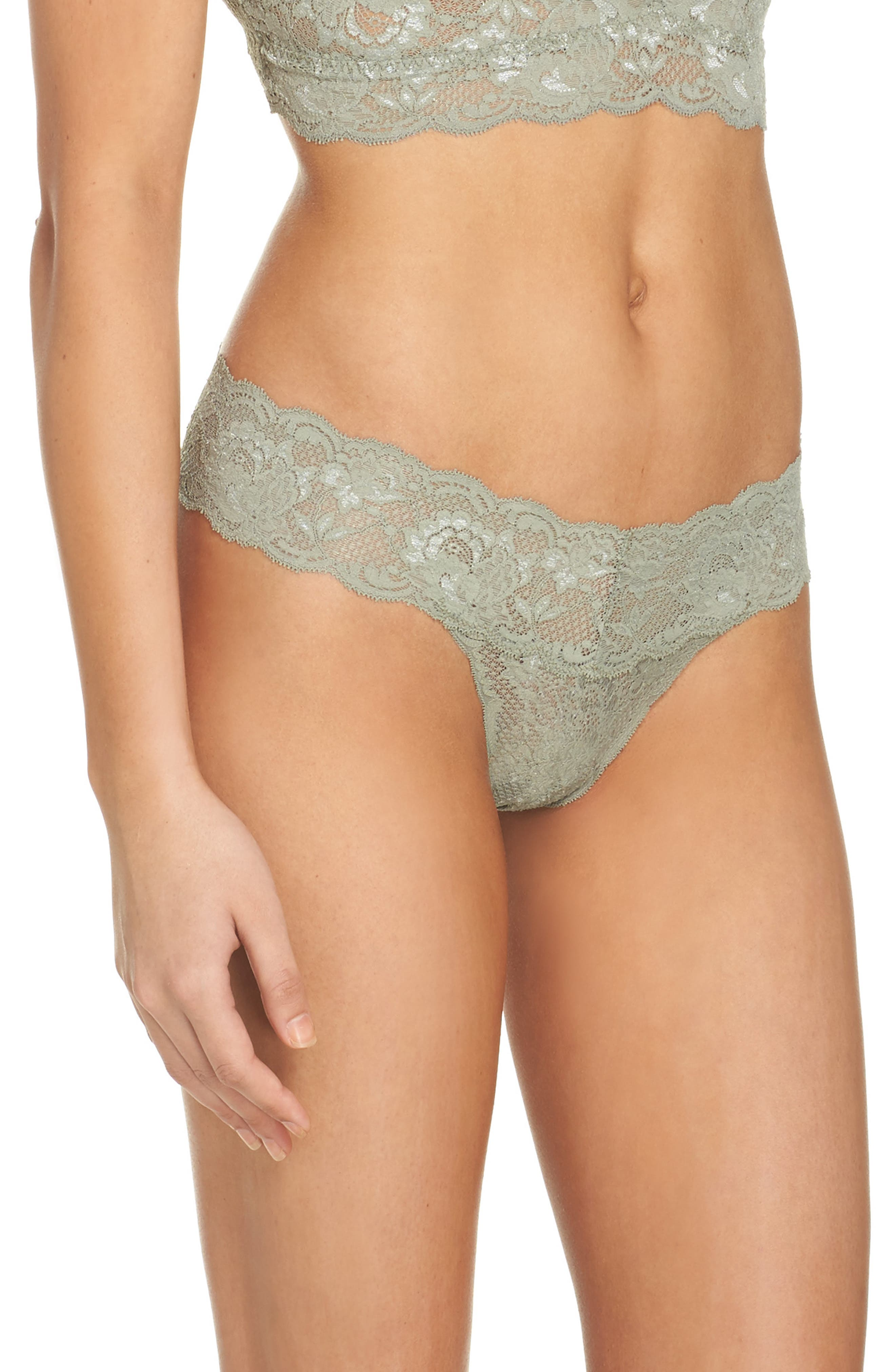 'Never Say Never Cutie' Thong,                             Alternate thumbnail 251, color,
