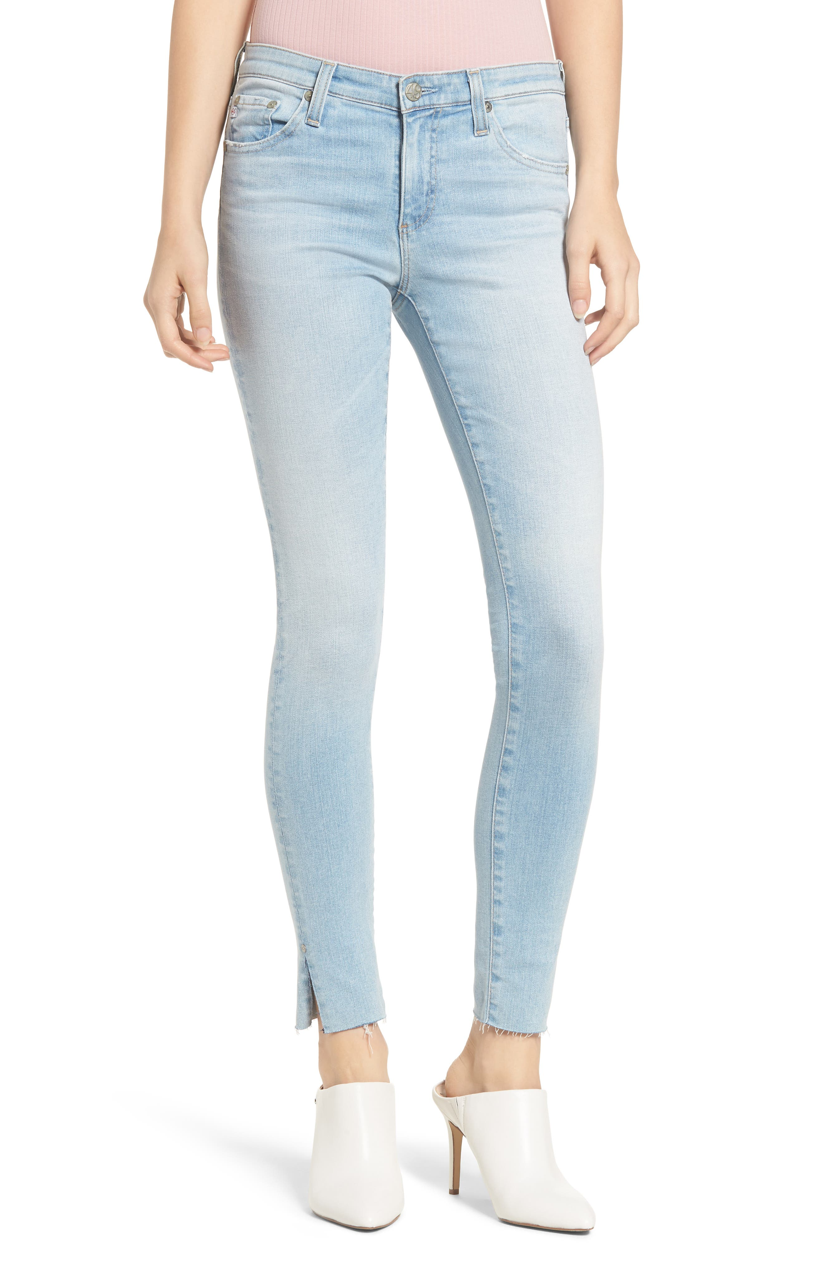 AG The Legging Ankle Skinny Jeans, Main, color, 483