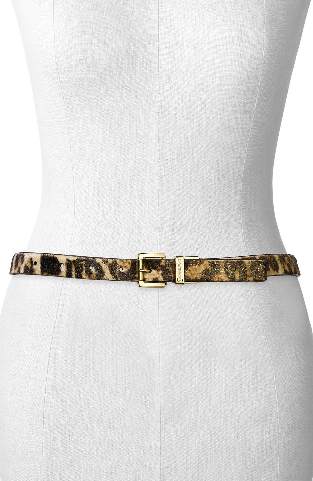 Reversible Skinny Belt,                             Main thumbnail 1, color,                             001