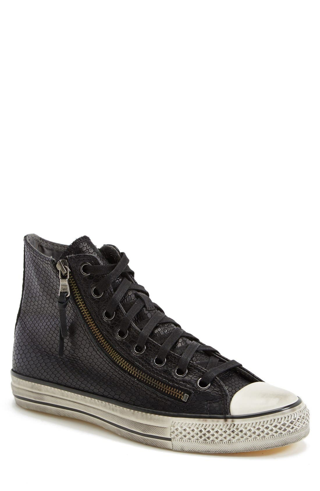 Chuck Taylor<sup>®</sup> All Star<sup>®</sup> Zip Sneaker, Main, color, 001