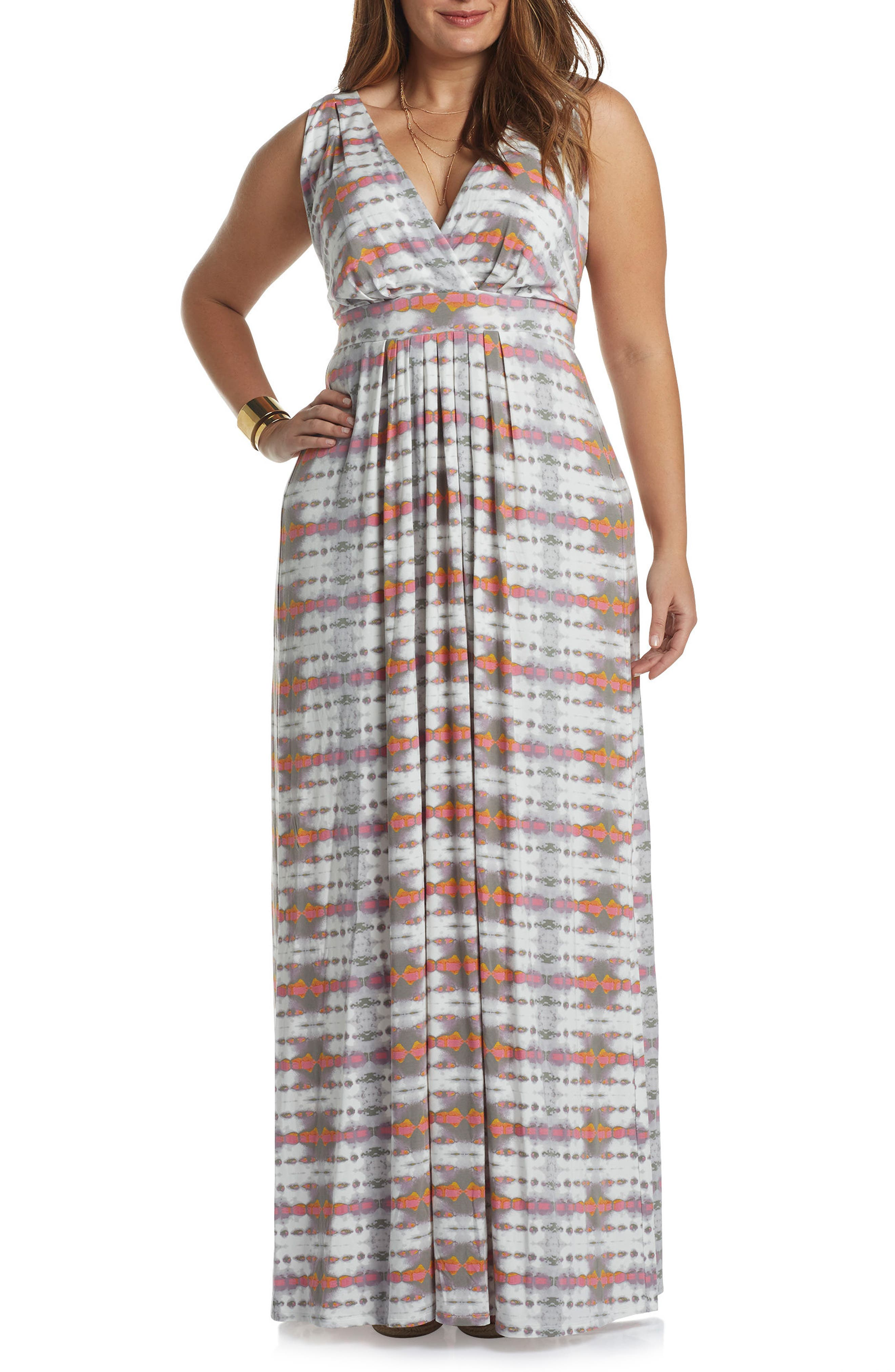 Chloe Empire Waist Maxi Dress,                             Main thumbnail 9, color,