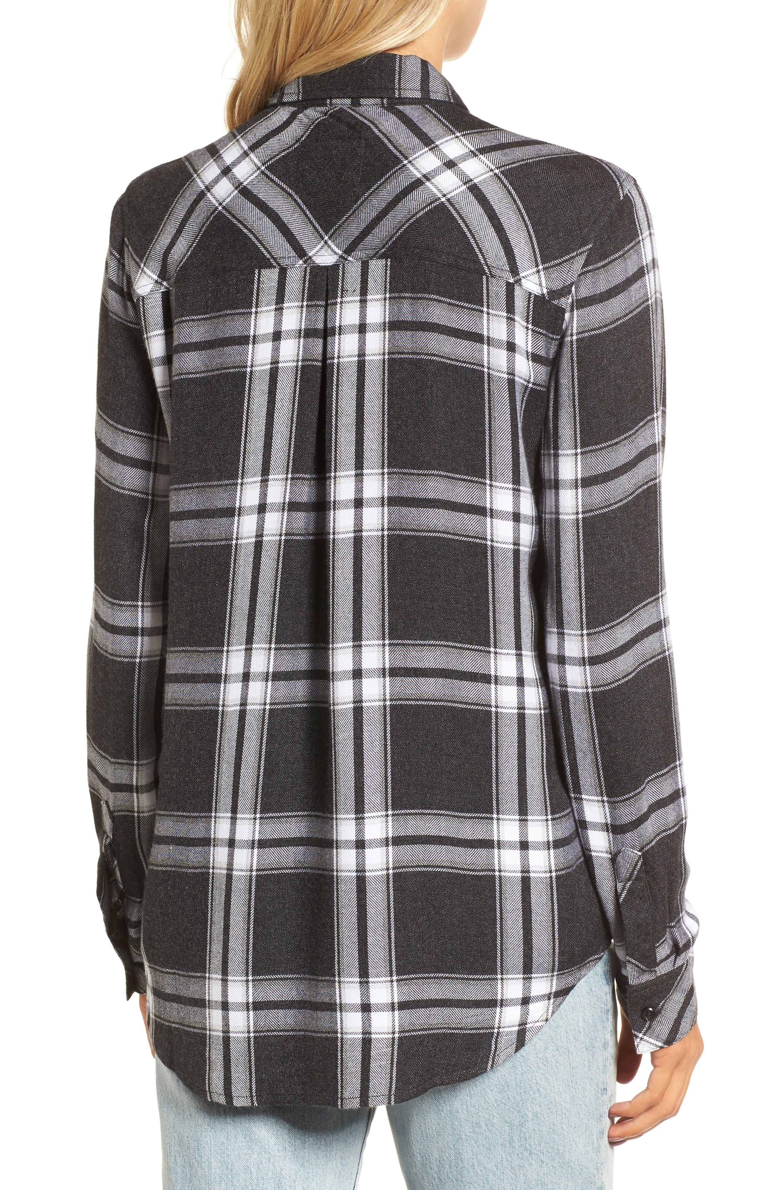 Hunter Plaid Shirt,                             Alternate thumbnail 166, color,